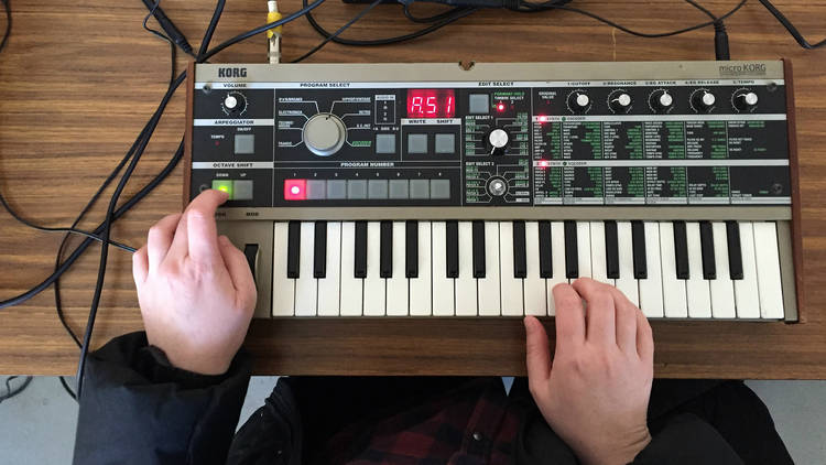 27/6/17: Bridget Chappell: All My Friends Are Synthesizers