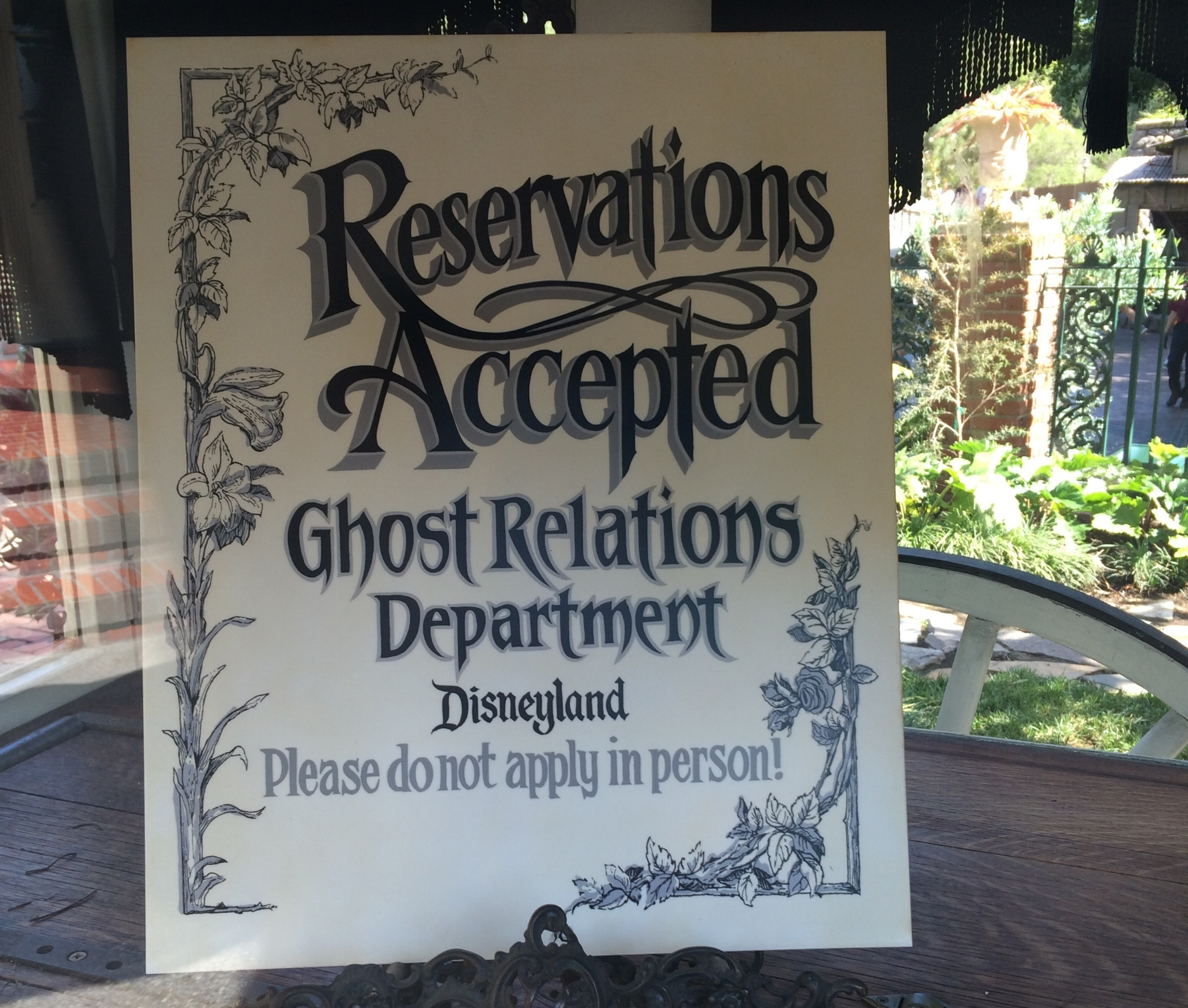 ghost relations department