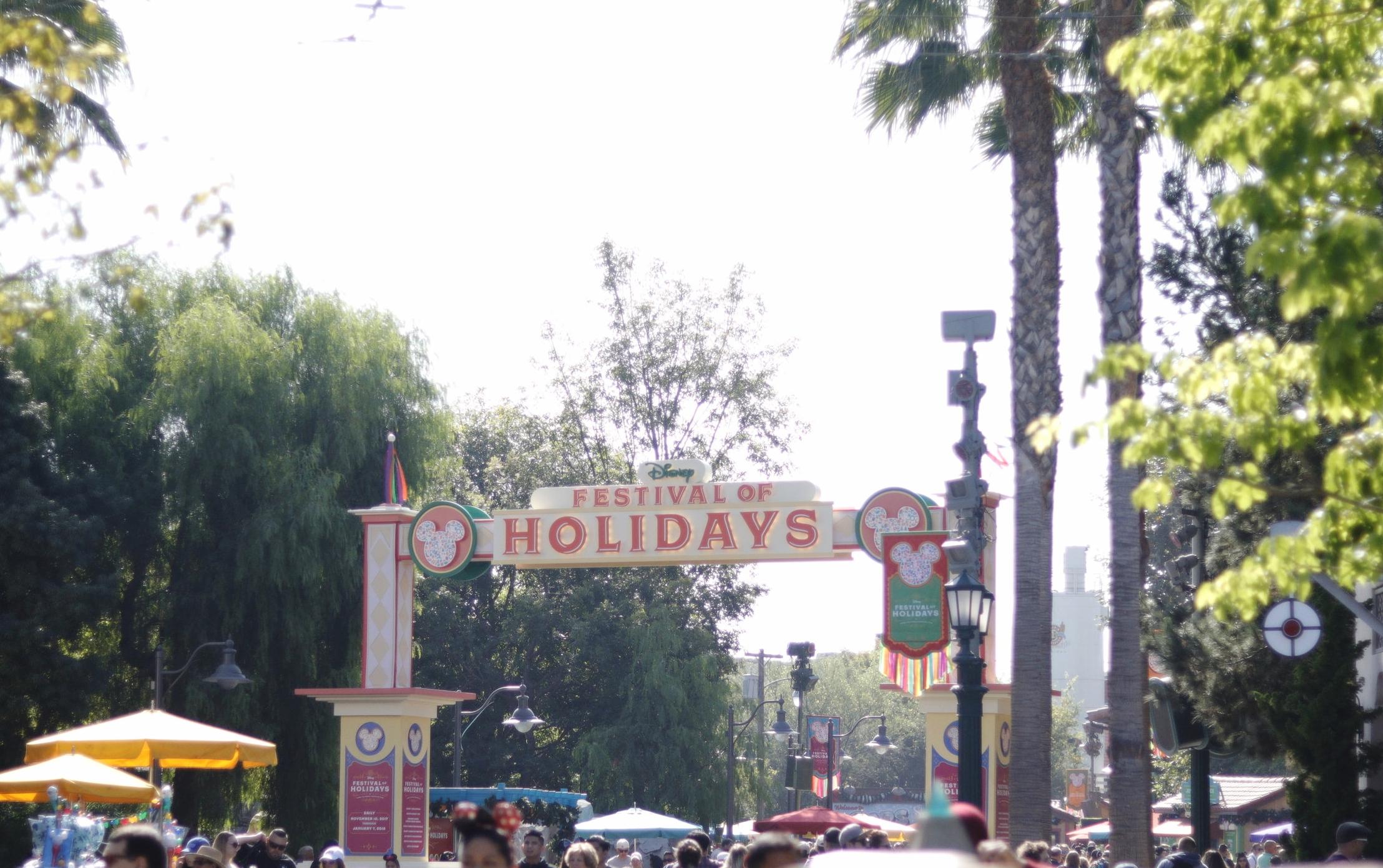 festival of holidays dca
