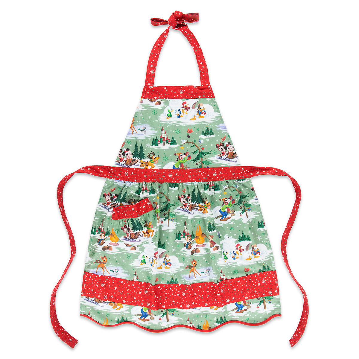 Holiday Minnie and Friends Apron.jpg