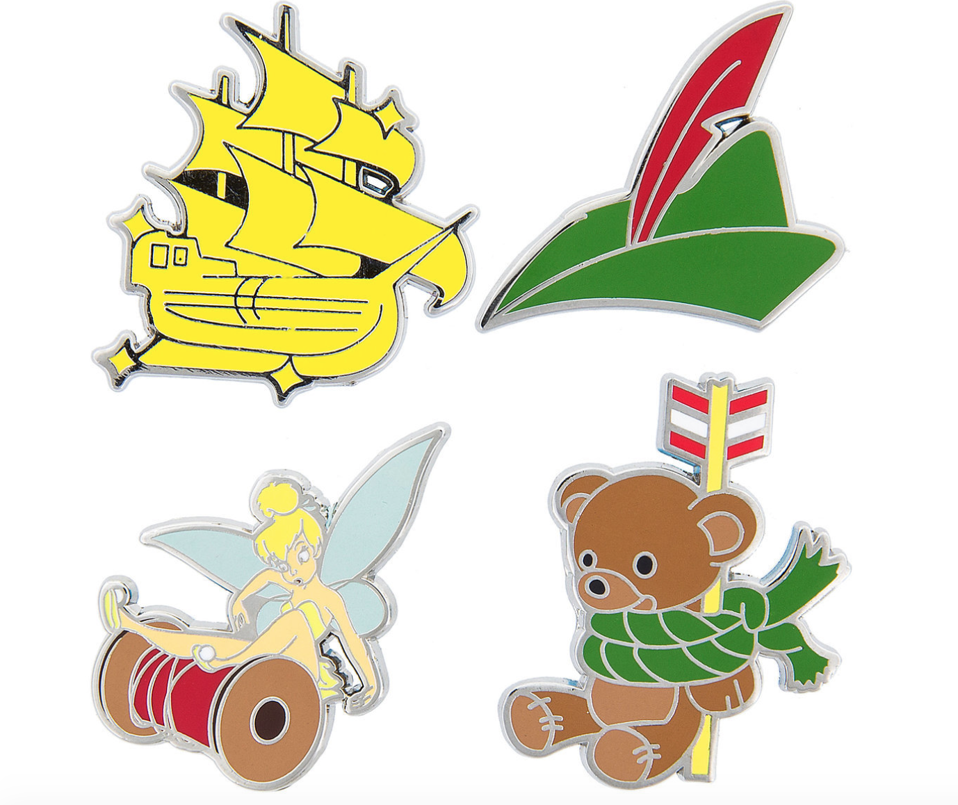 pin trading booster set peter pan