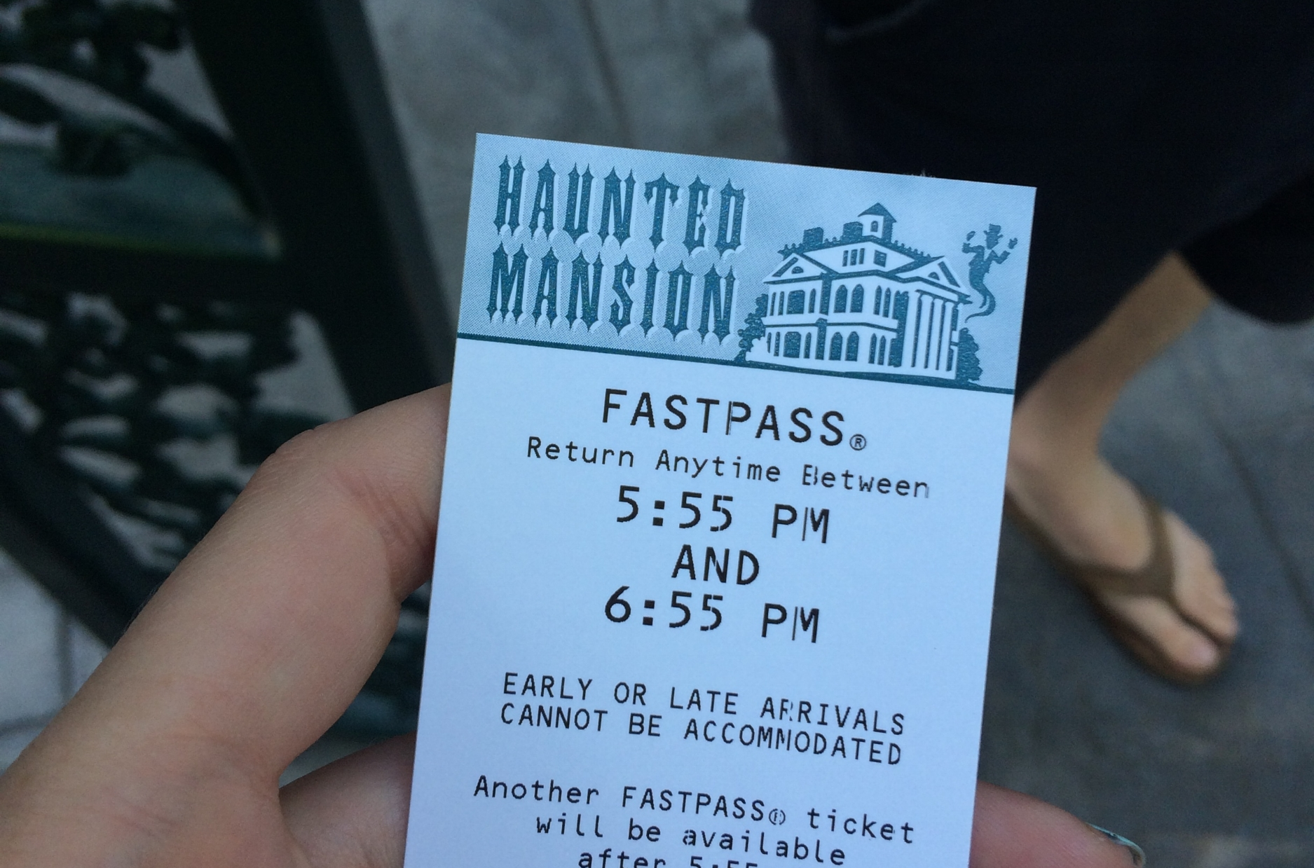 haunted mansion fastpass