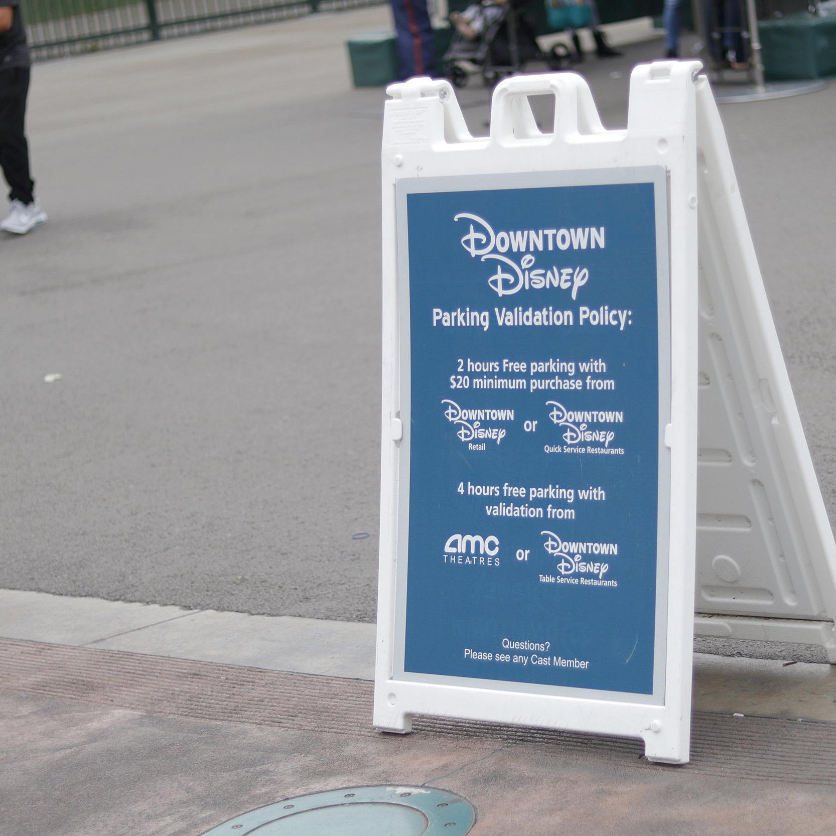 Downtown Disney Parking