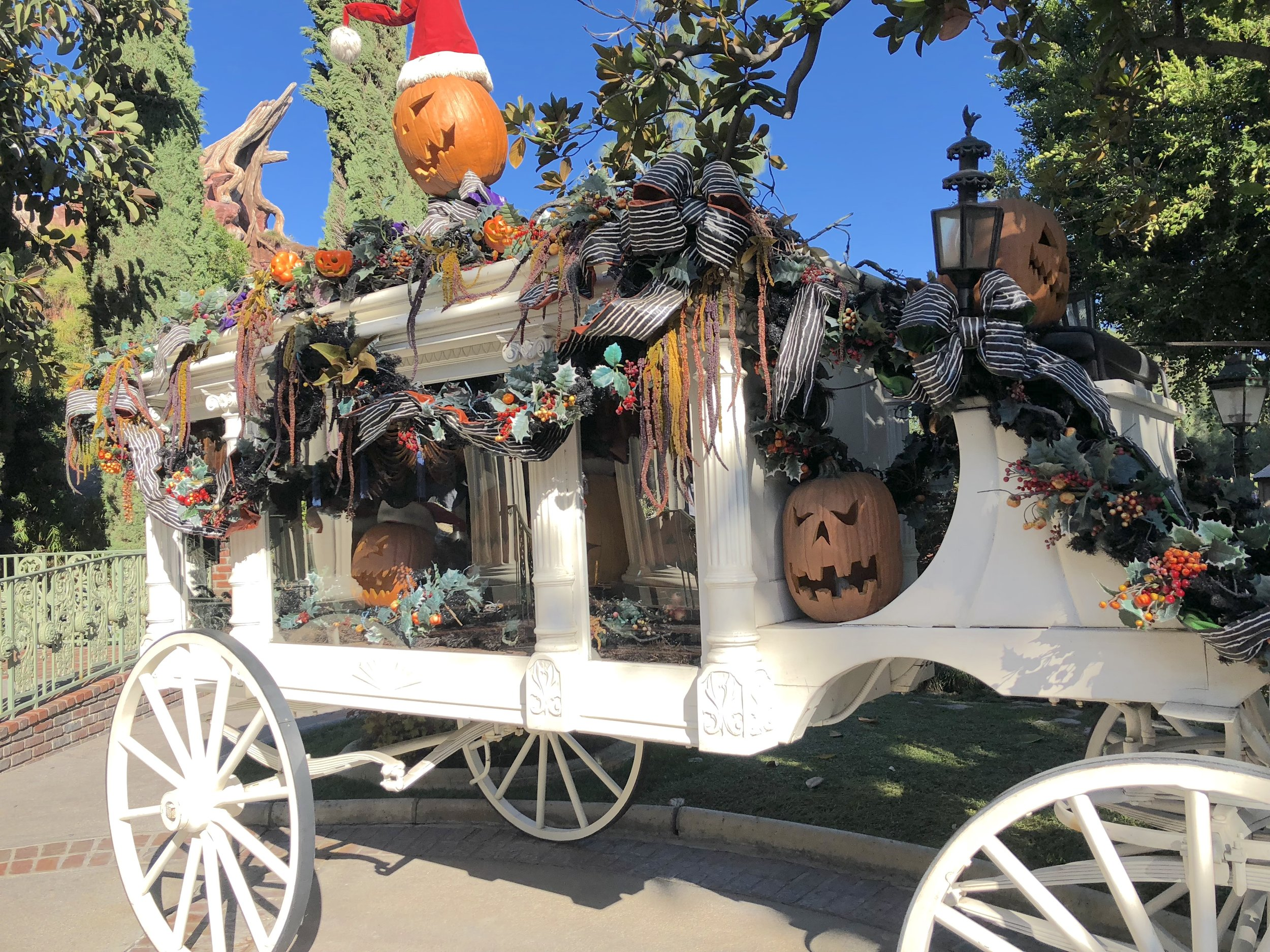 Haunted Mansion Holiday Buggy