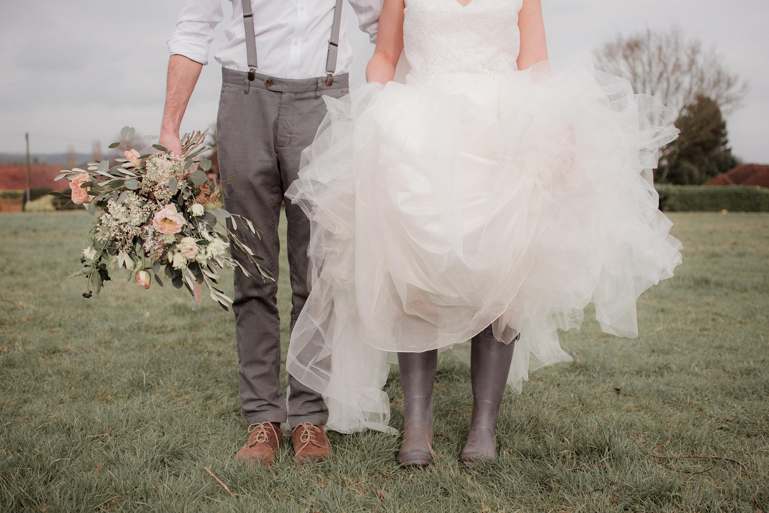 Outdoor Wedding Wellies