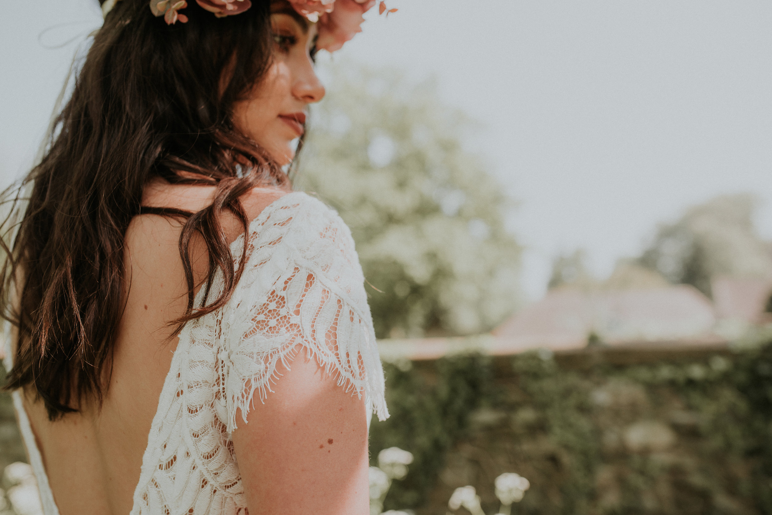 Boho wedding Berkshire