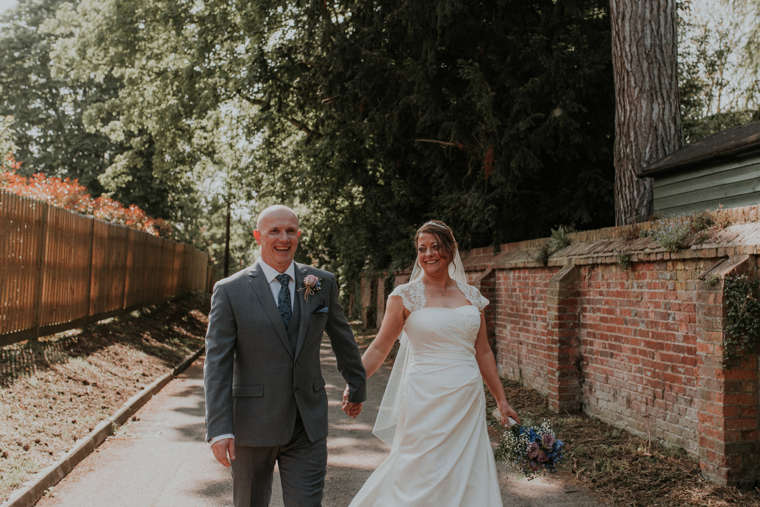 While I was off photographing Andy & Laura's relaxed couples portraits...