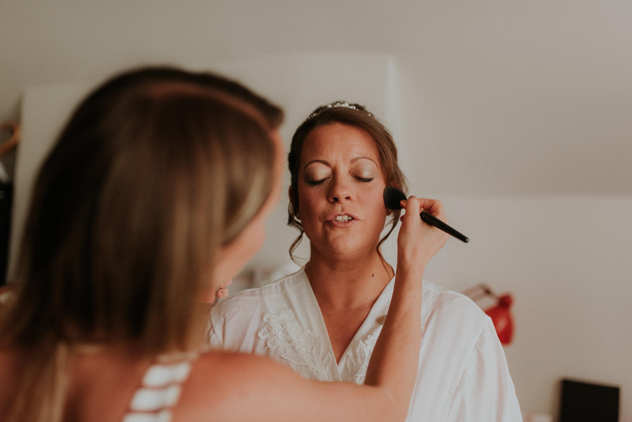 Bridal make-up Berkshire