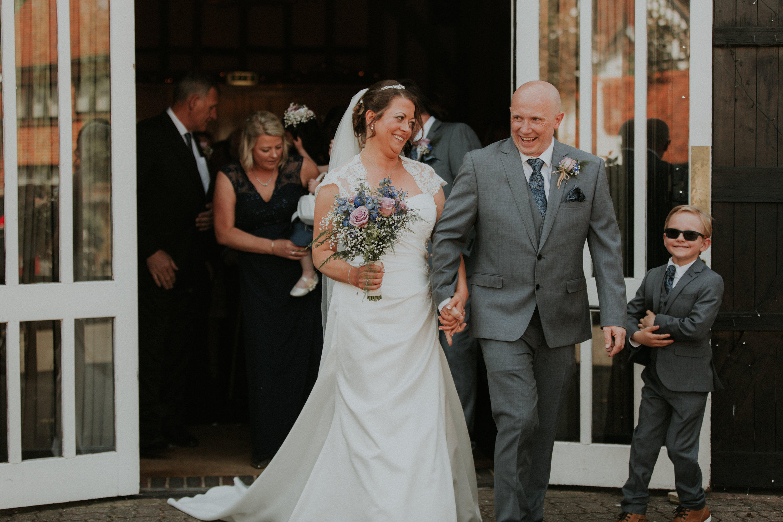 just married in Berkshire