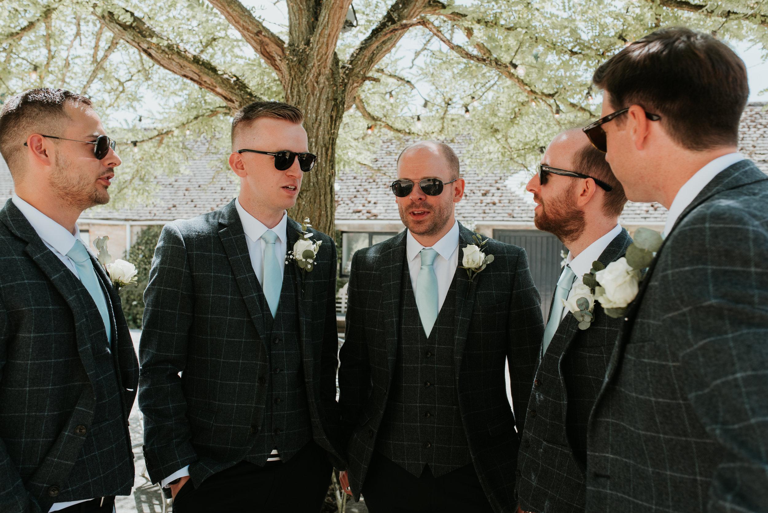 Tweed Groom Suits Oxfordshire