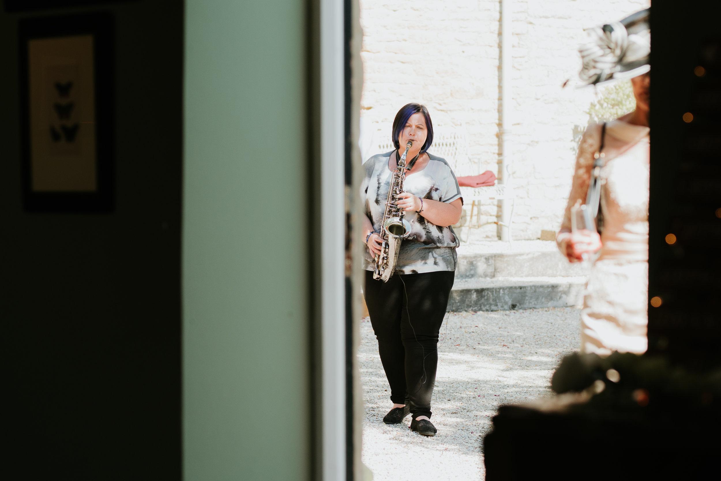 wedding saxophonist Oxfordshire