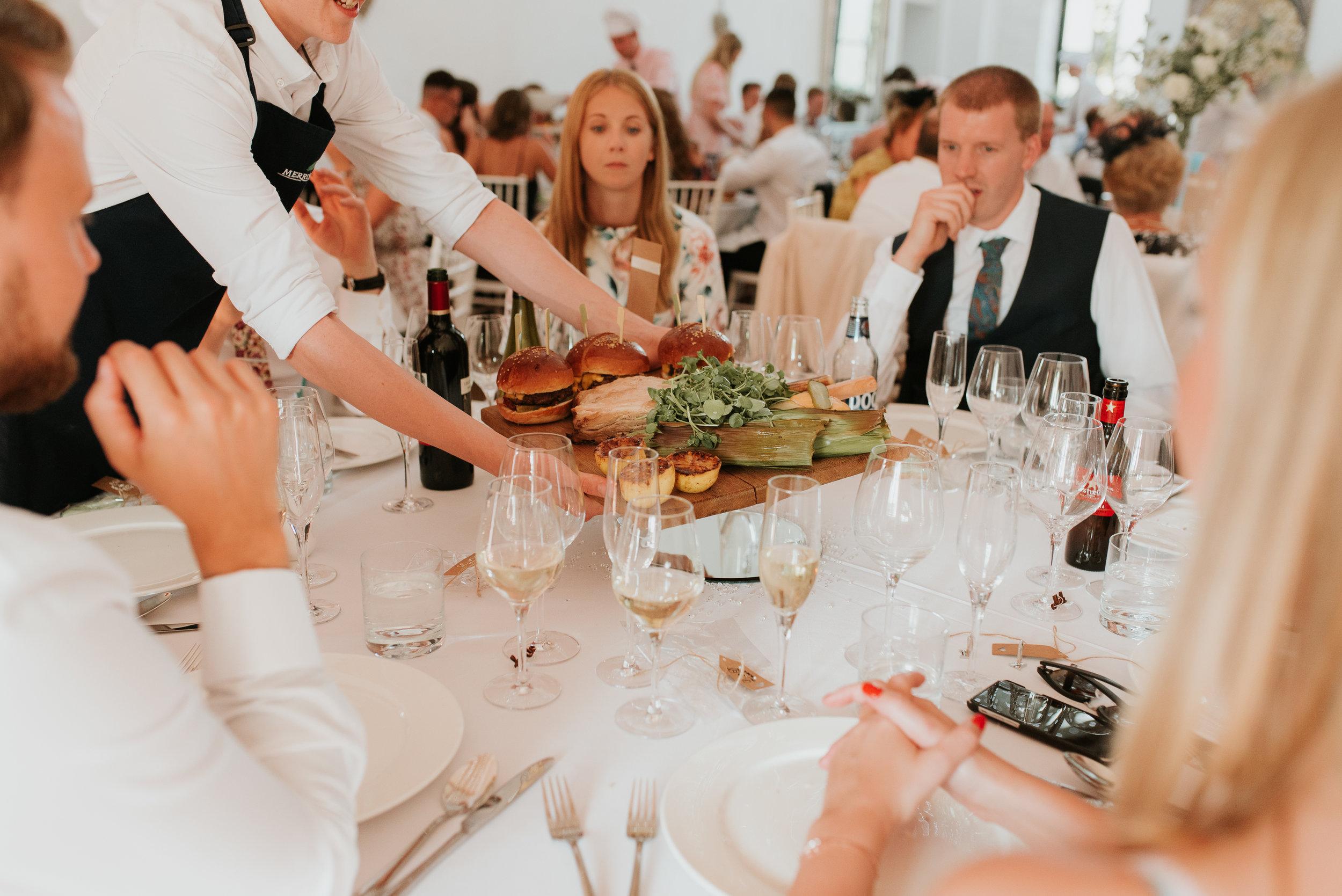 wedding sharing platter Merriscourt