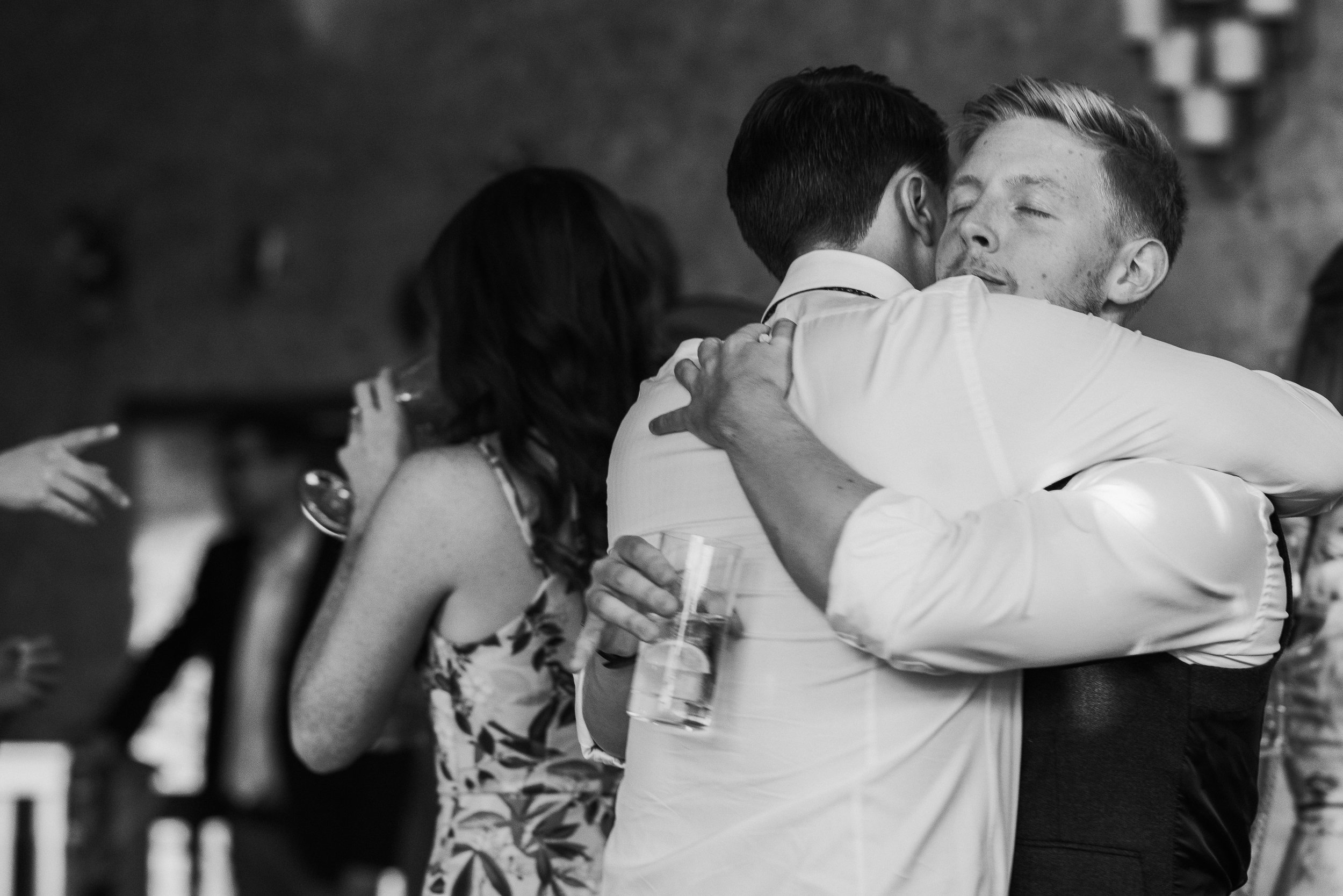 black and white wedding photography Oxfordshire