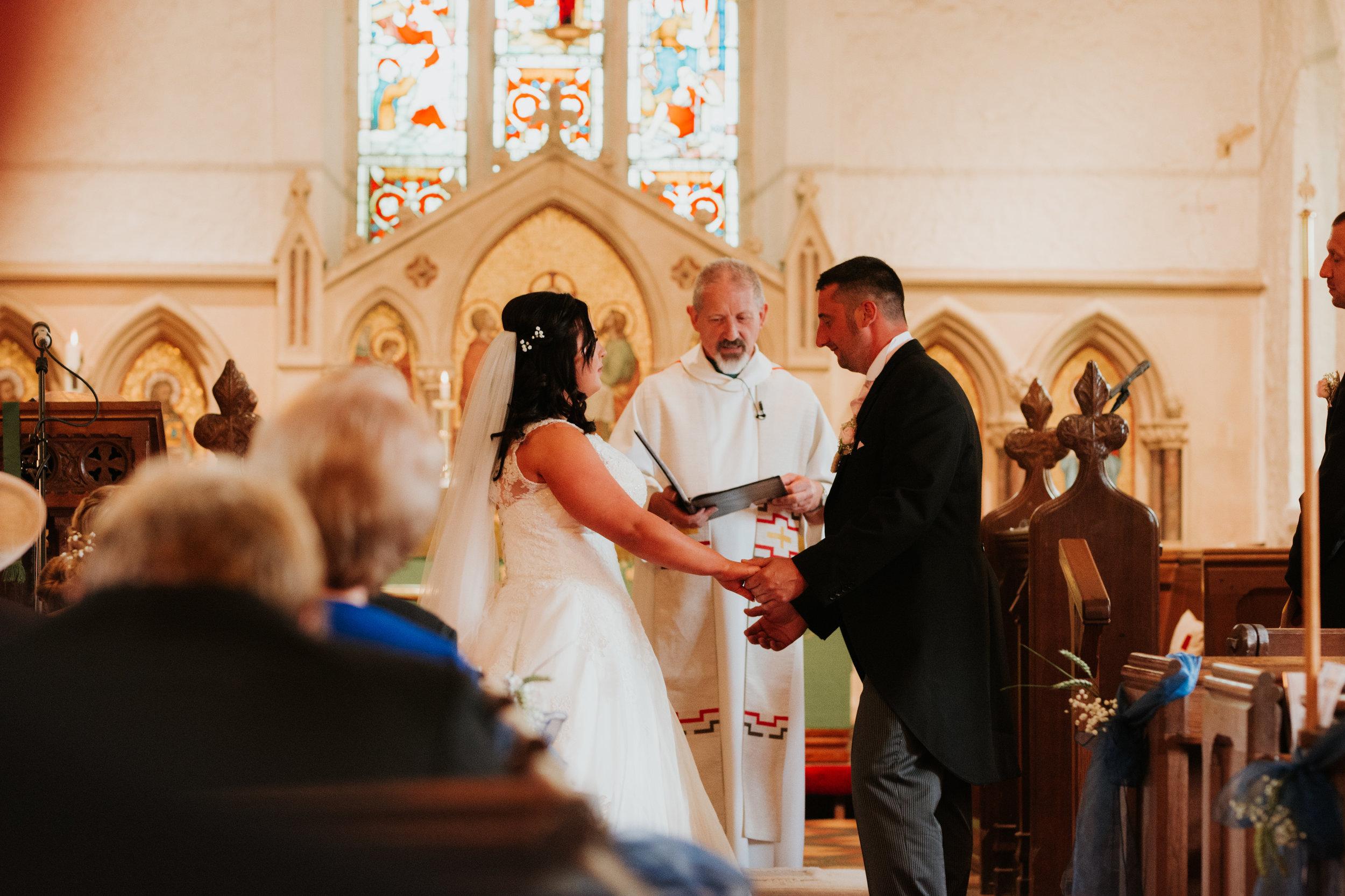church wedding photographer Reading