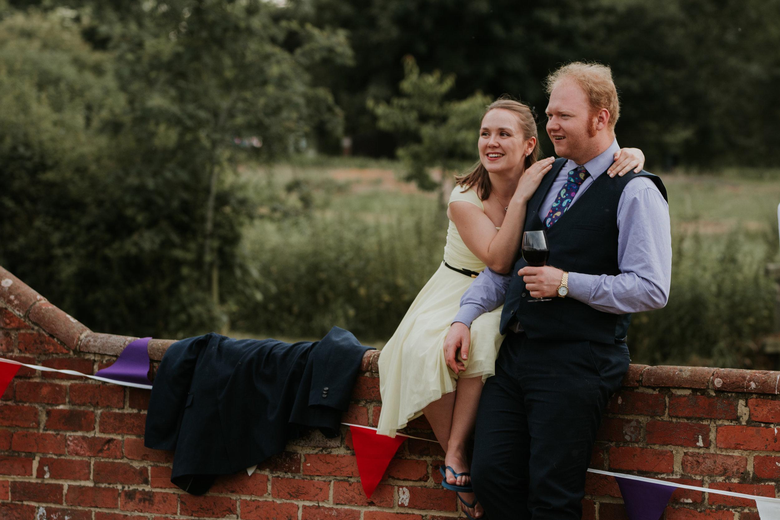 wedding guests Berkshire