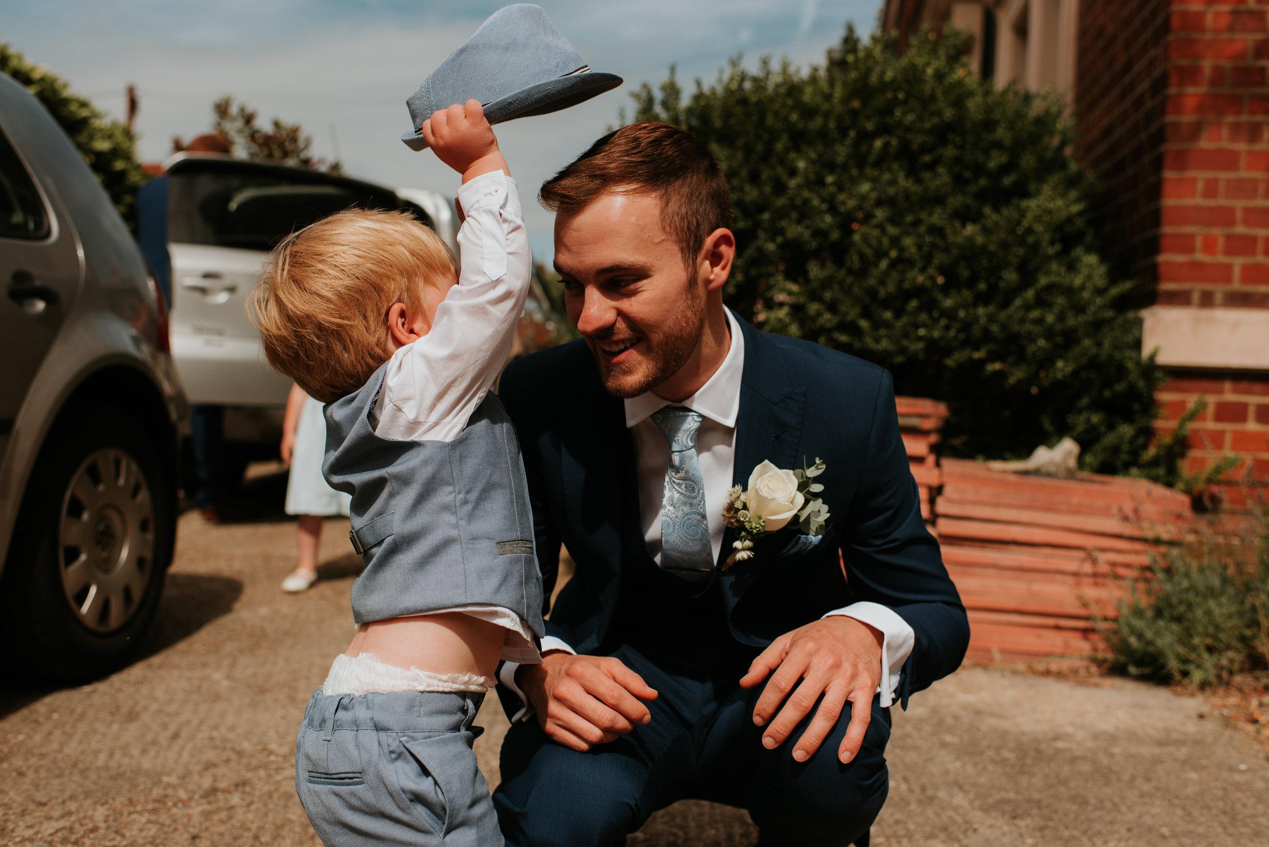 Family wedding photographer Oxfordshire