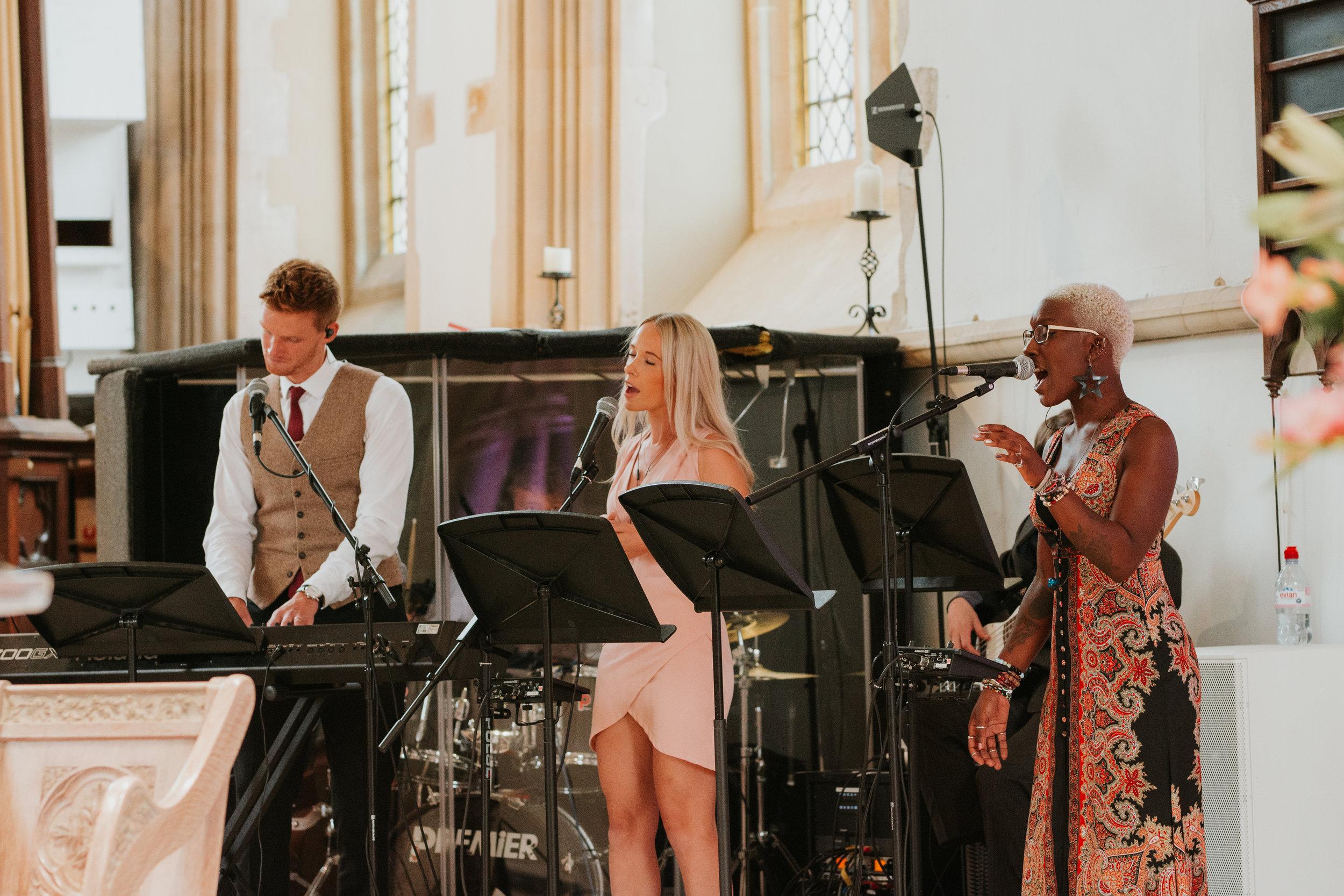 Church wedding singers Reading