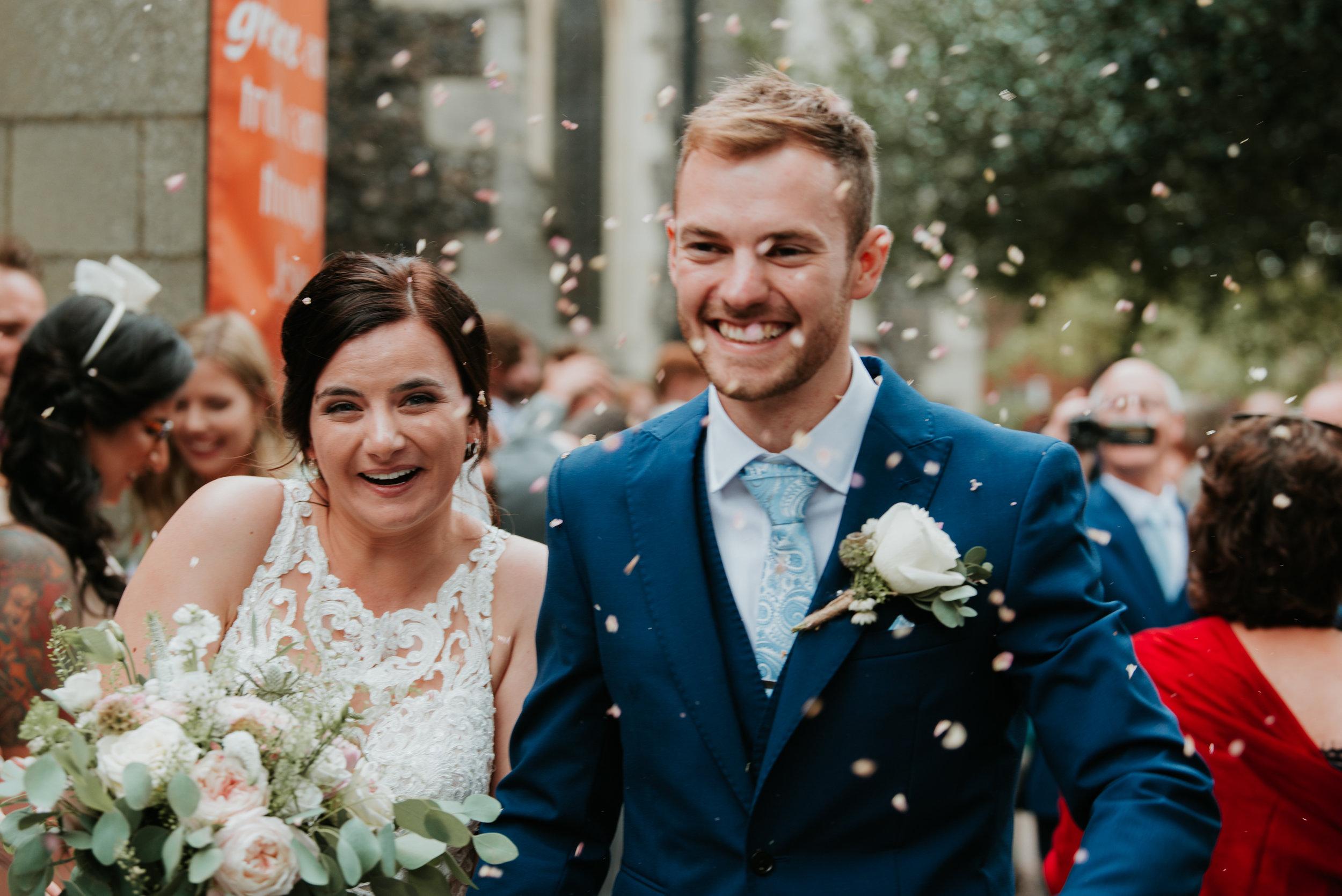 fun wedding photographer Berkshire