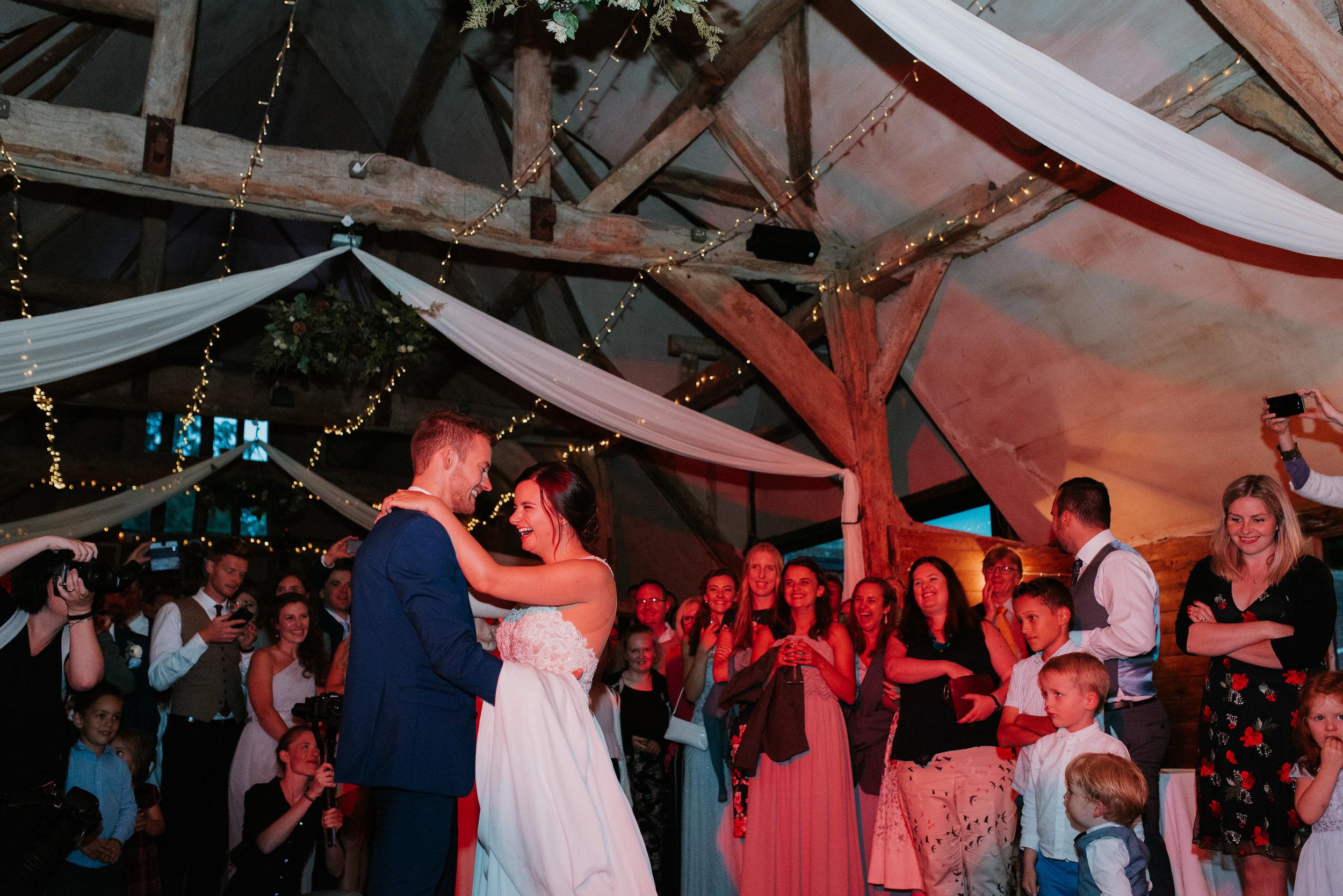 wedding Lains Barn Wantage