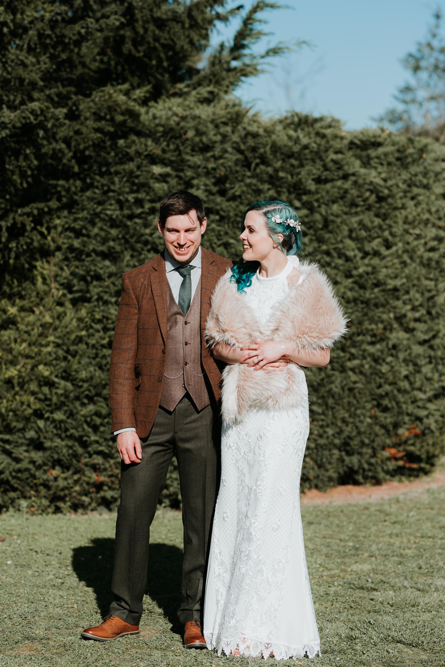 alternative wedding photographer Berkshire