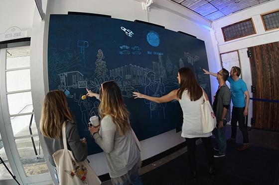 Interactive Murals -
