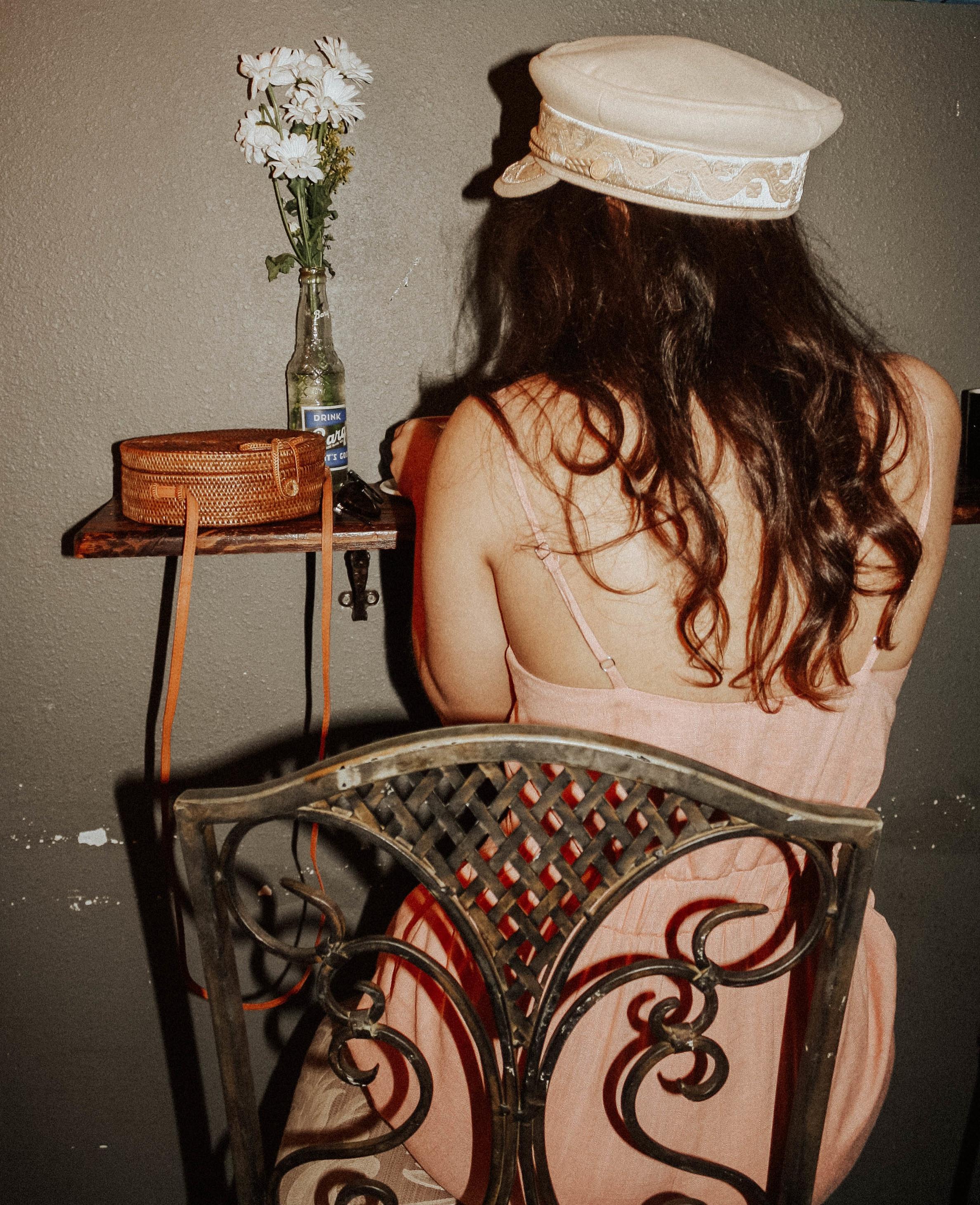 Purse: Cleobella; Hat: Lack of Colors