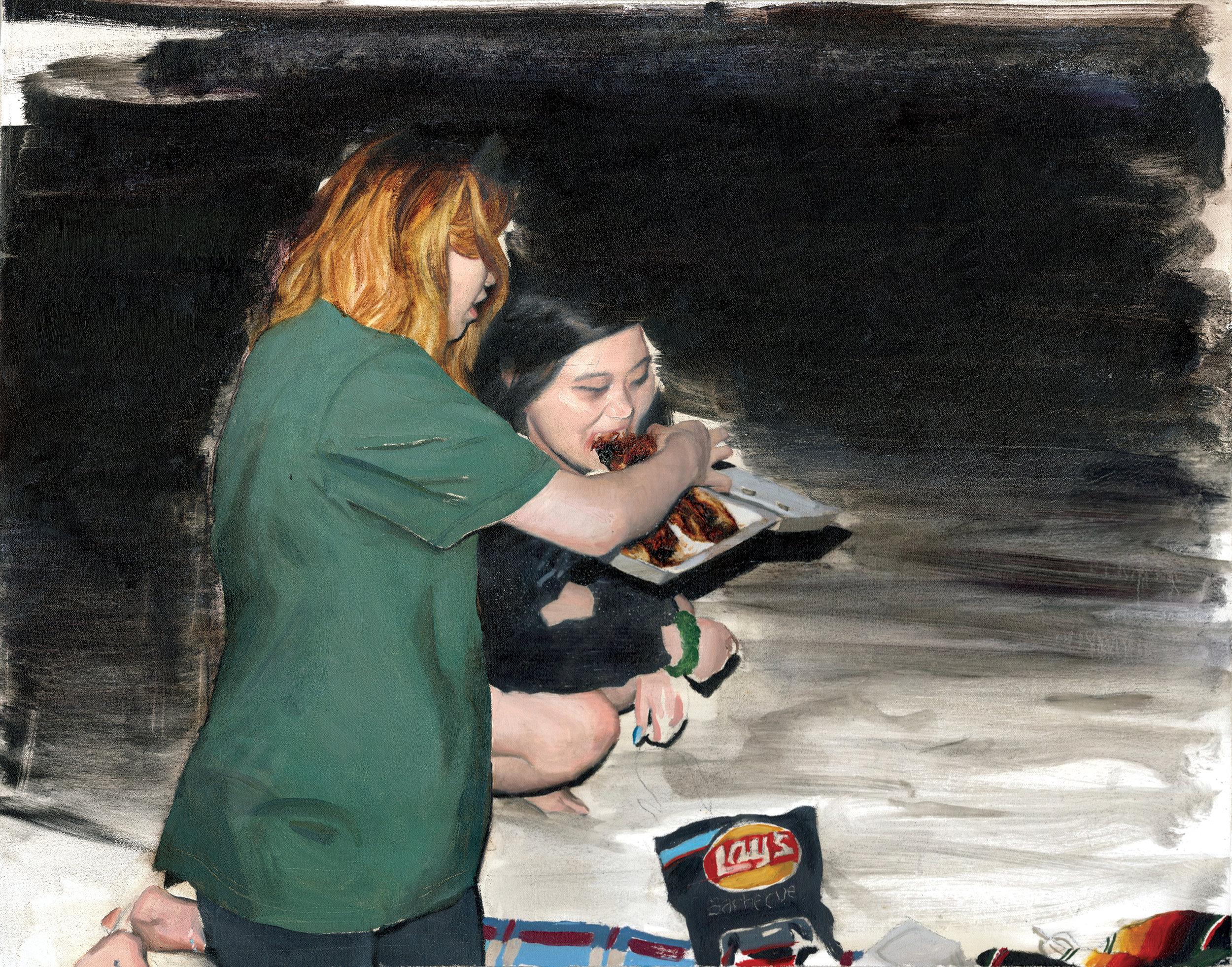 Feeding Anne
