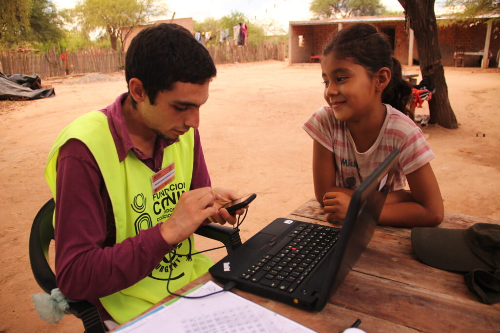 CONIN uses the Microsoft cloud to help eradicate child malnutrition in Salta, Argentina. Photo courtesy of CONIN.