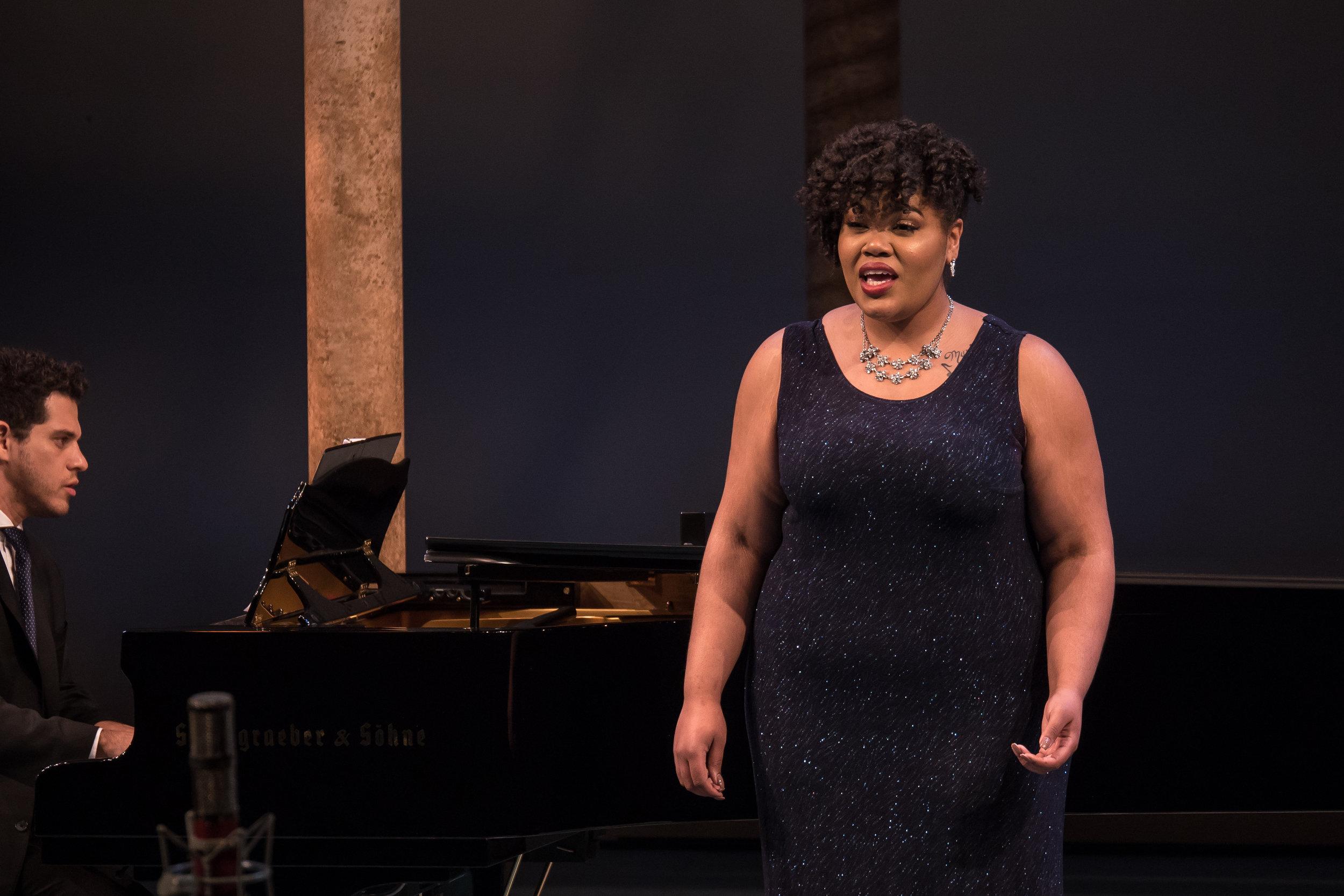 Chantel Woodard, mezzo-soprano