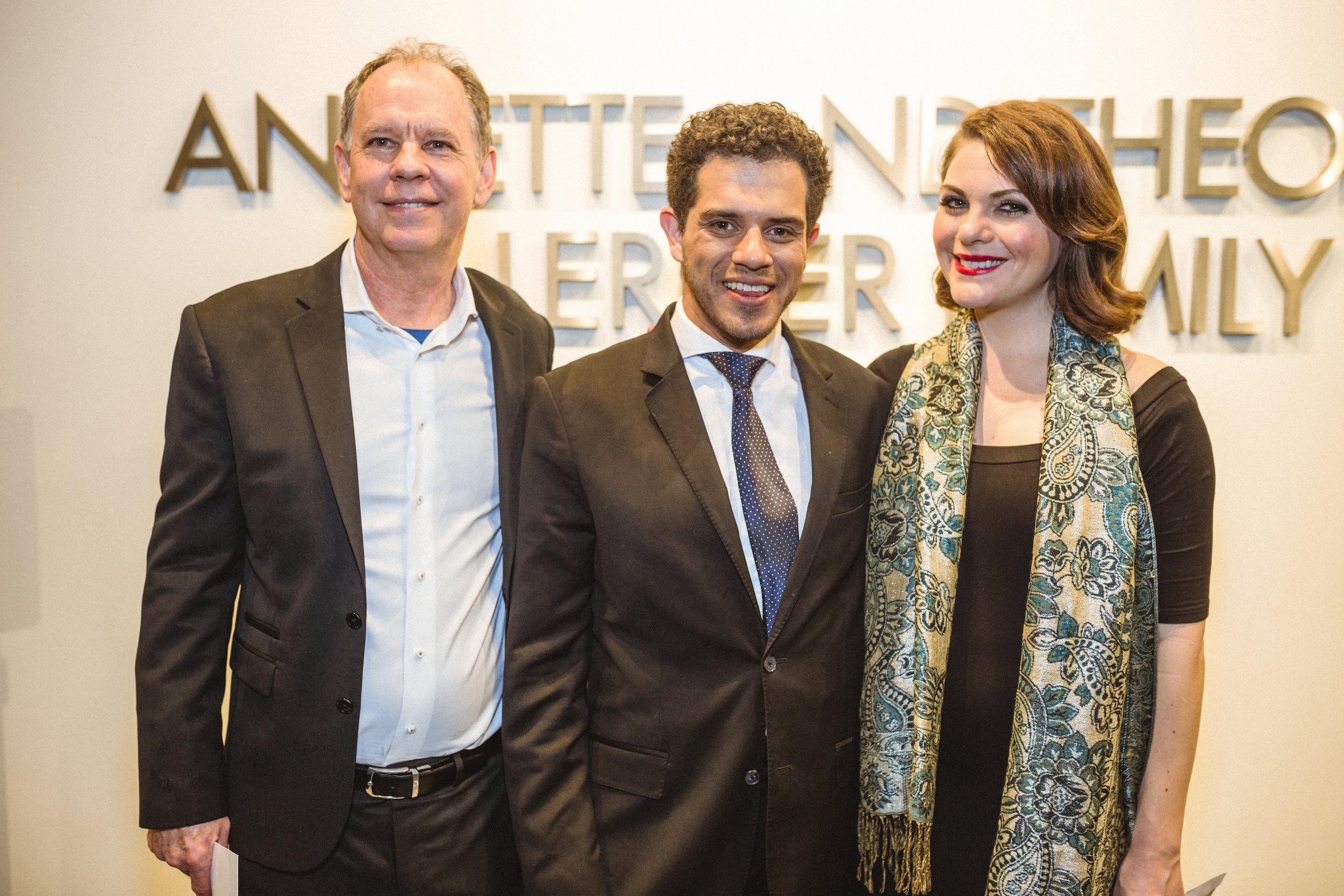 Brad Clark, Rafael Andrade, Maria Natale