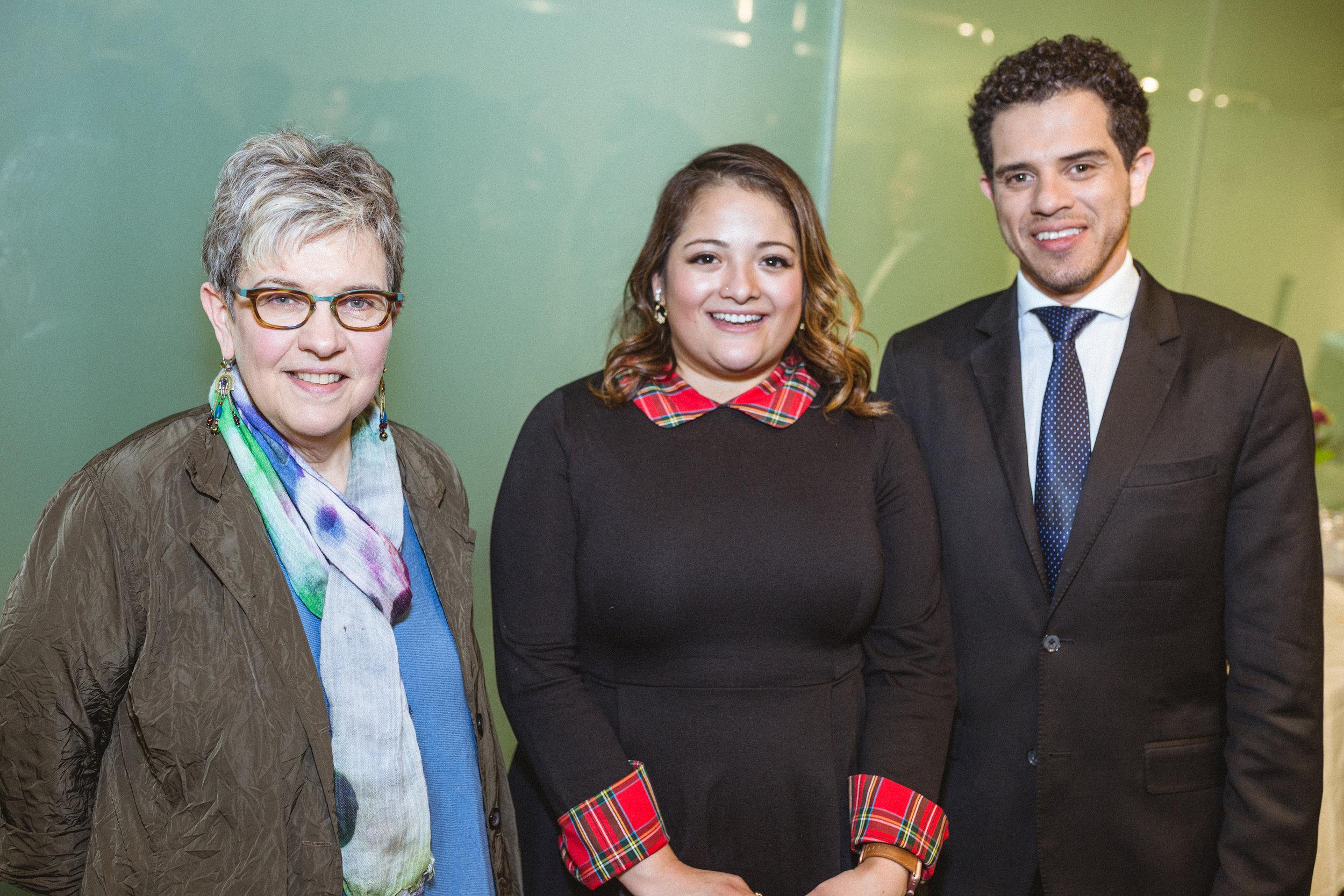 Marylin Woorman, Teresa Woorman, Rafael Andrade