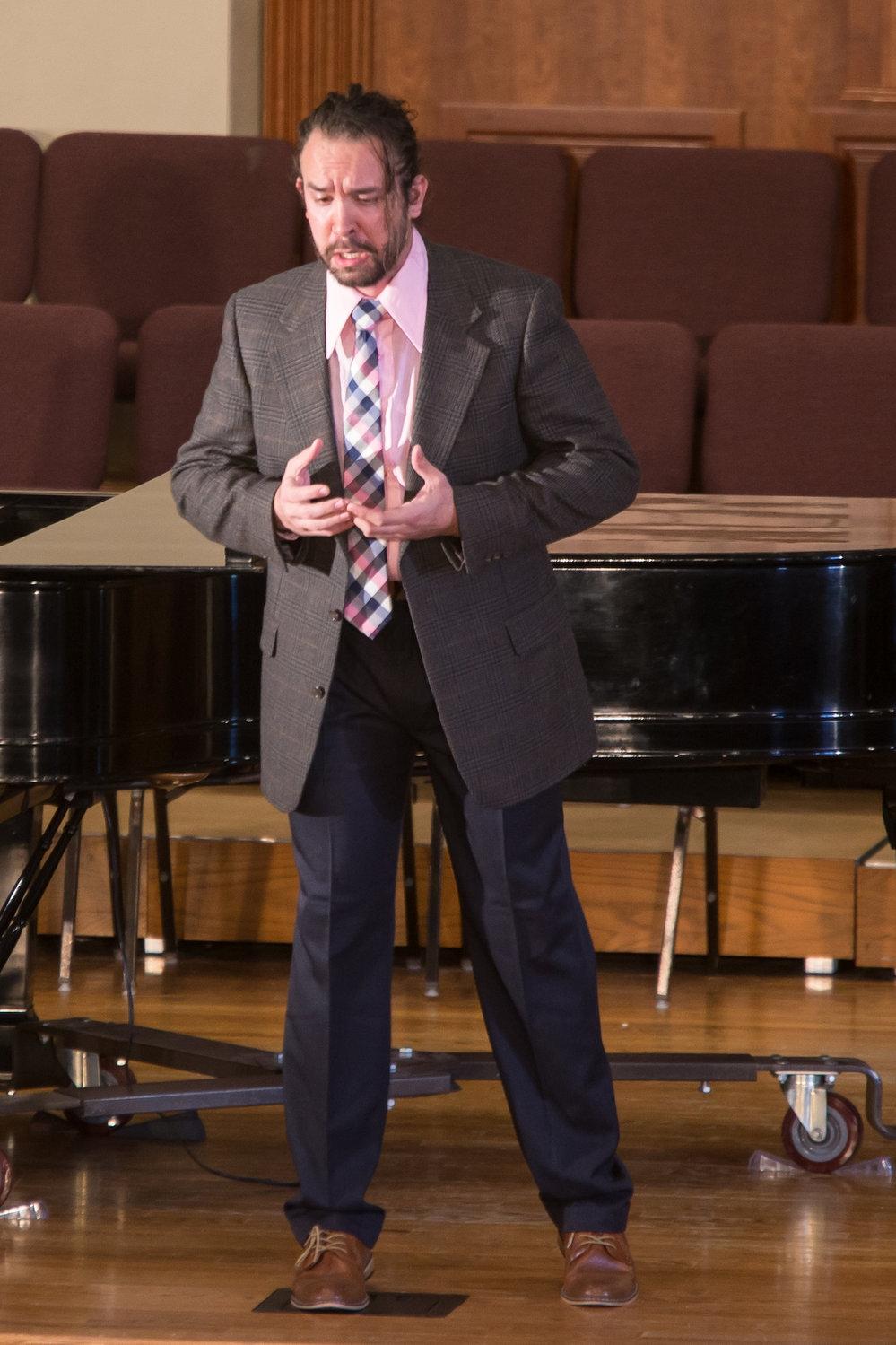Joseph Michael Brent, baritone