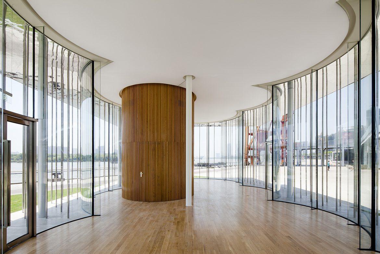 L'interno del Cloud Pavillon.