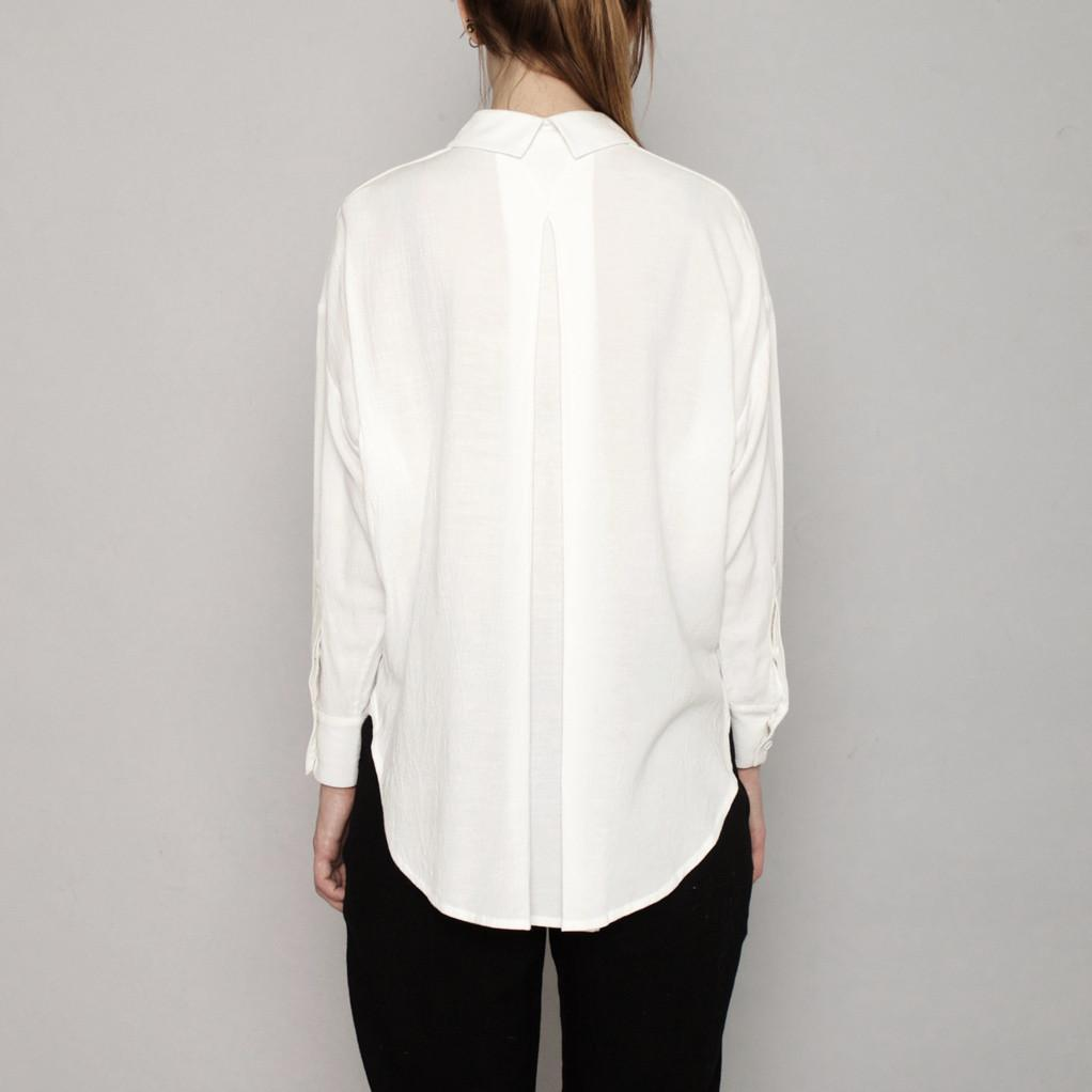 Dolman Shirt  in White