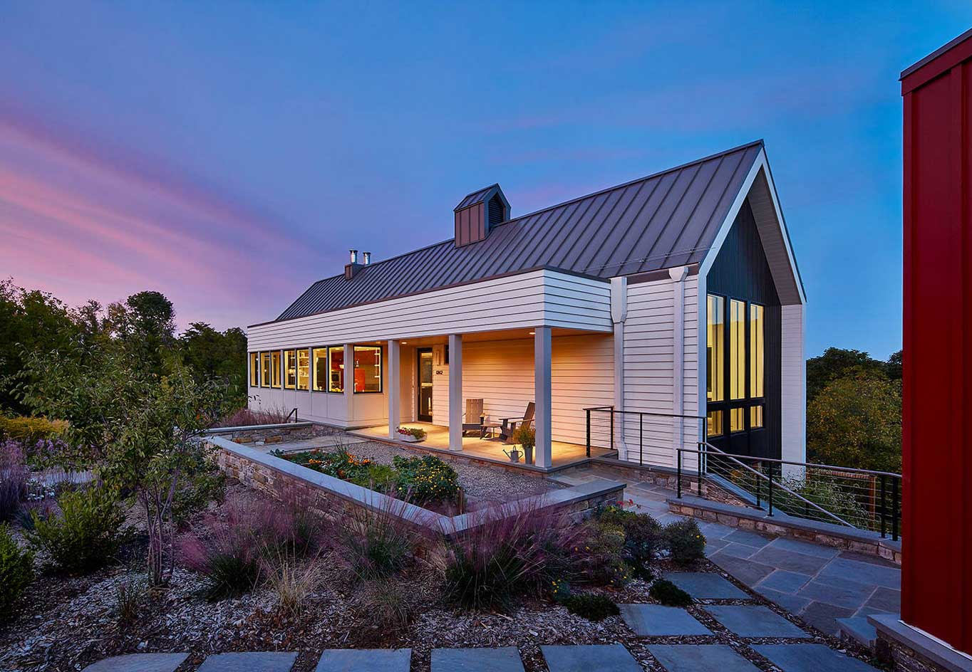 Modern Home in Rural Hamlet by Wiedemann Architects