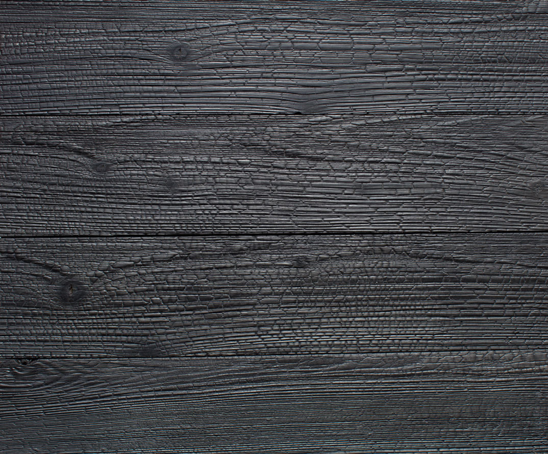 Charred Timber (Shou Sugi Ban)