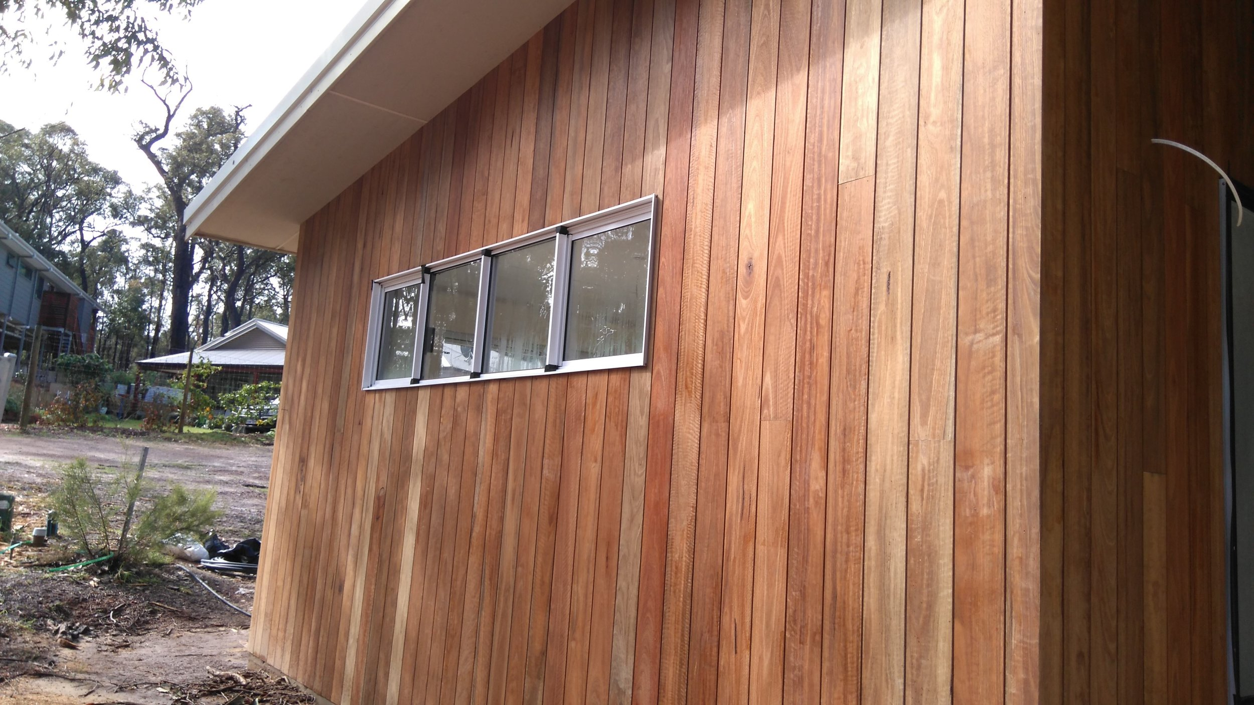 Shadow Cladding - Spotted Gum           Suitable for BAL Rating 29