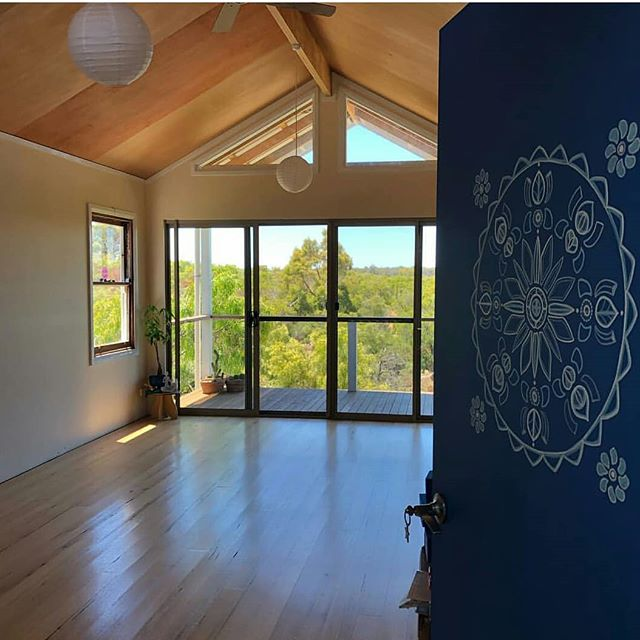 I visited a past client who wants to build a two storey shed/granny flat. I had preciously drew up a yoga studio for her and had the privilege of joining her for a class before we talked designs. What a thrill to participate with other clients in such a beautiful room with an amazing outlook.  Thank you Sonya @PeppyBeachYoga, so much for not only entrusting me with your dreams but being an awesome yoga teacher, you've set the room up so well. Looking forward to stage two.