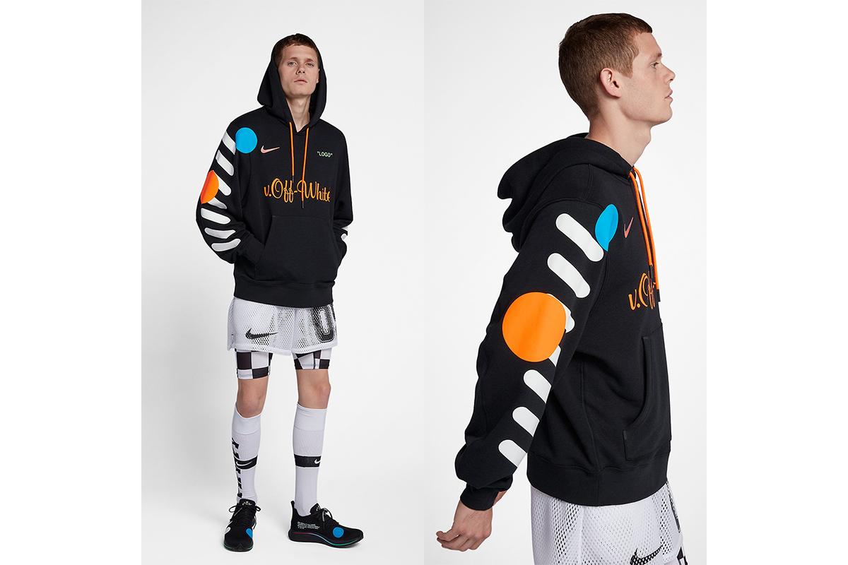 oben Nike Nike x Off White Hoodie AA3257 010 | BSTN Store