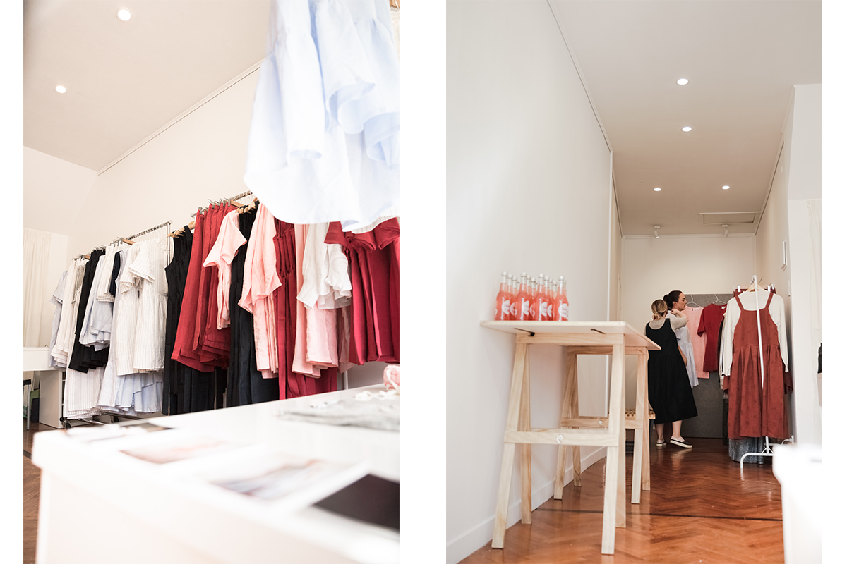 hej hej's pop up store in Auckland