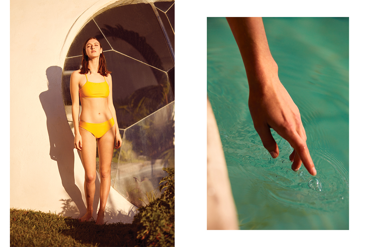 Kowtow Introduces Sustainable Swimwear Made From Nylon Waste