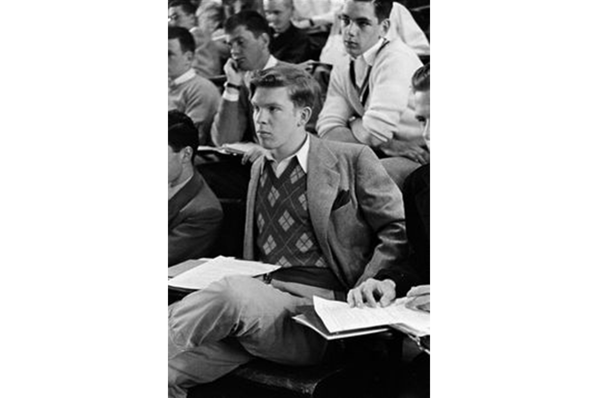 Ivy League fashion was about tailoring and smart casual dressing. Photo: Sourced