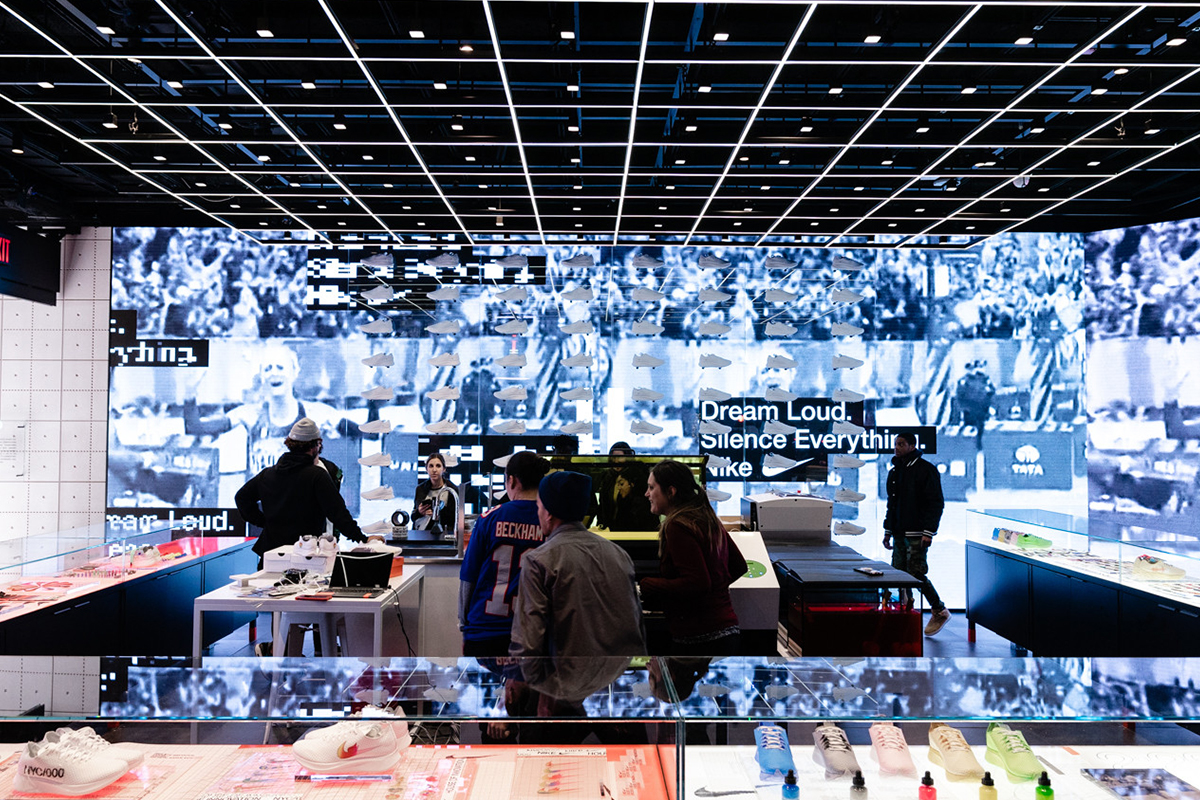 """Nike's Latest Flagship """"House Of Innovation 000"""" Opens In NYC"""