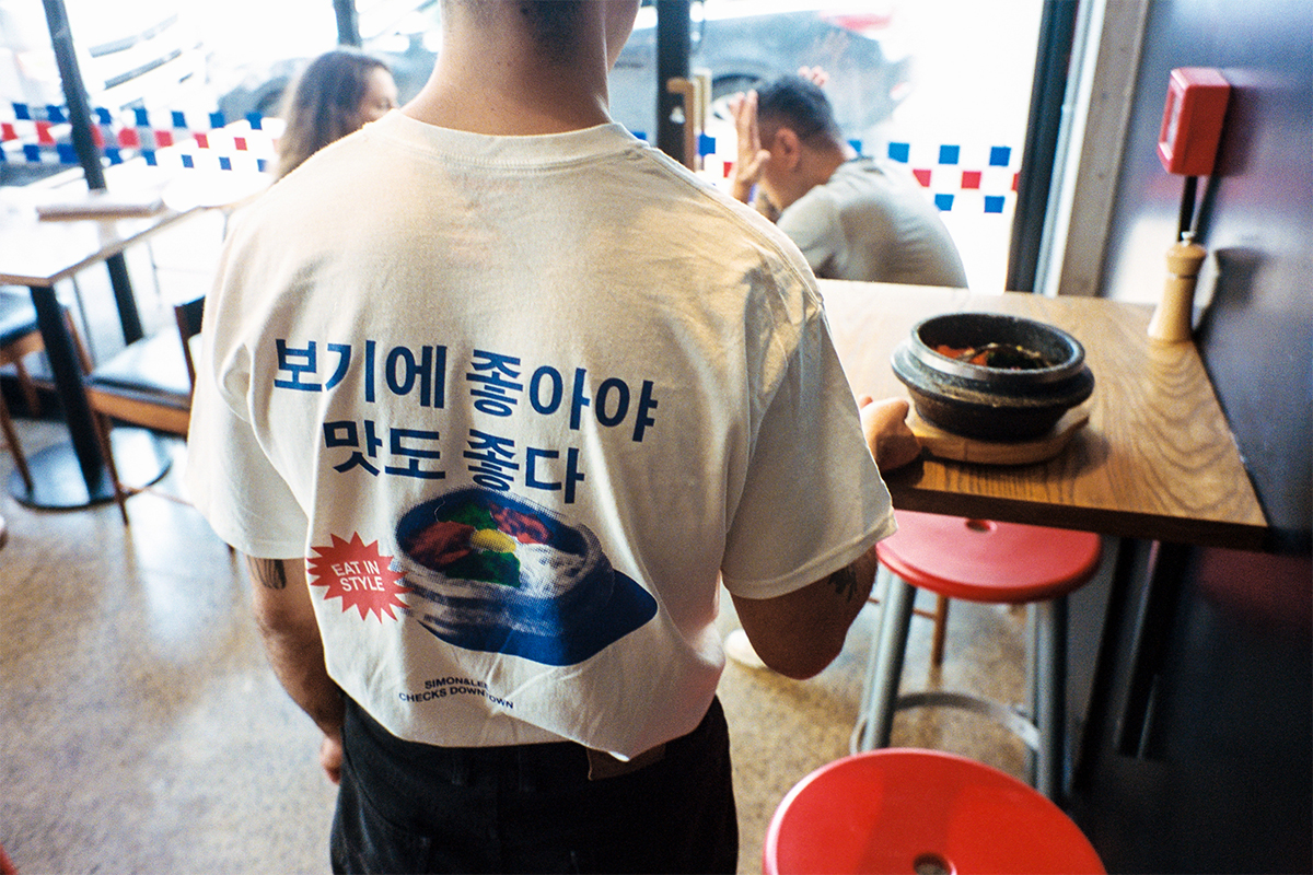 Checks Downtown And Simon & Lee Release A Collaborative T-Shirt