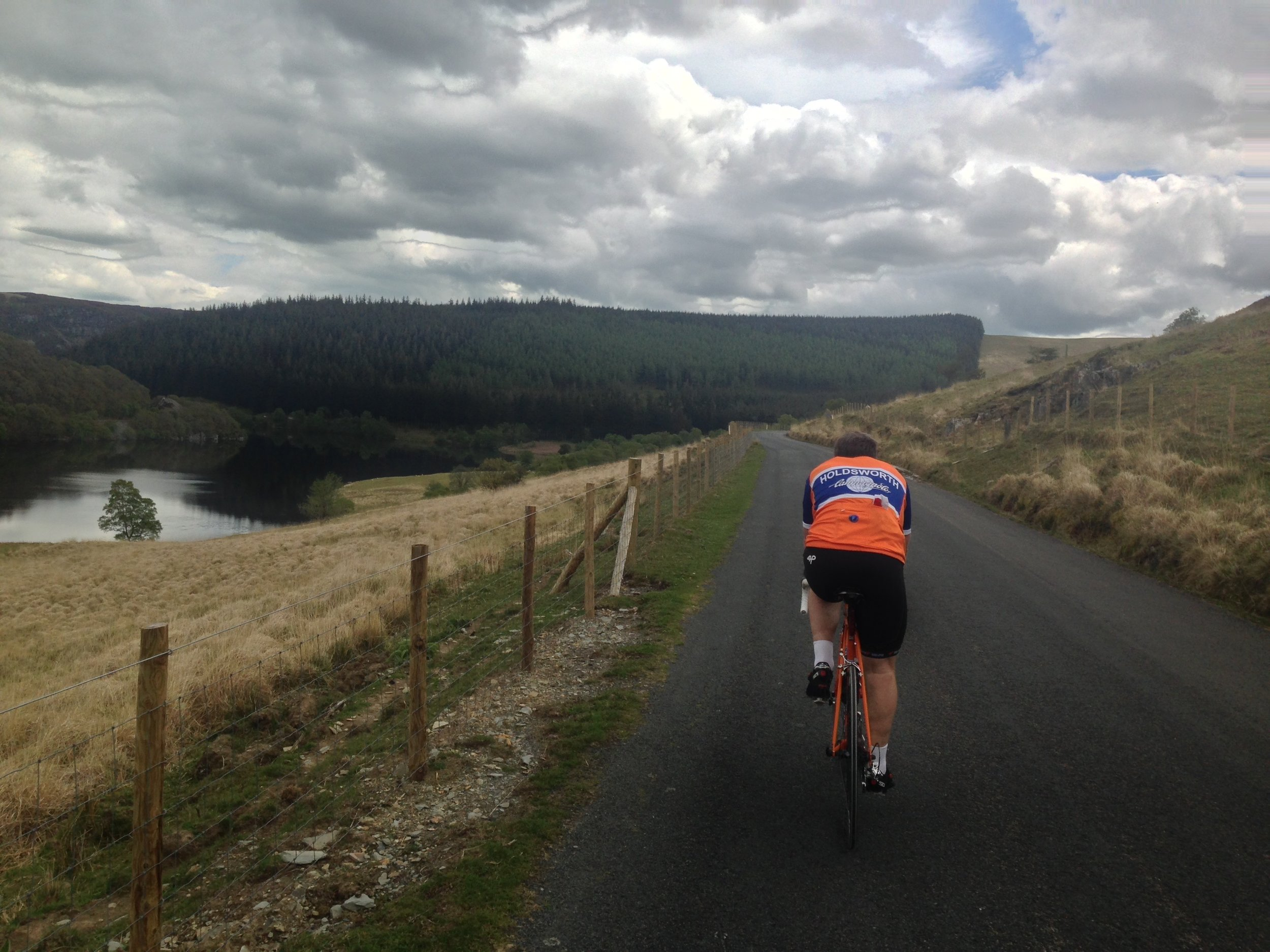 2015: Our ride in the Elan Valley.