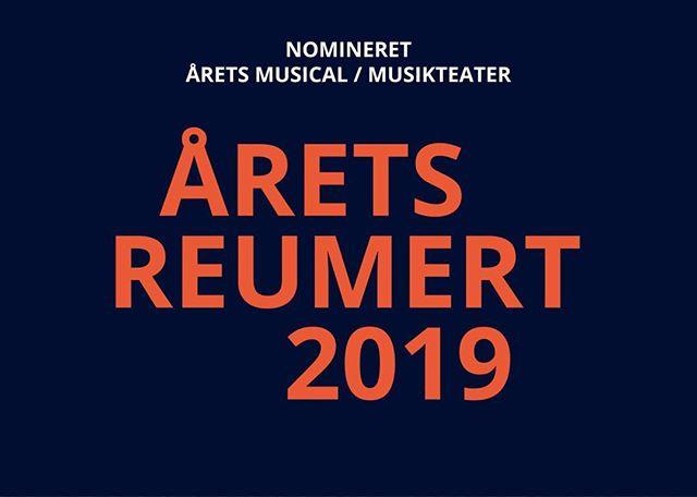 #dettabteland#Reumert-nomineret#❤️ en forestilling jeg er så glad for.