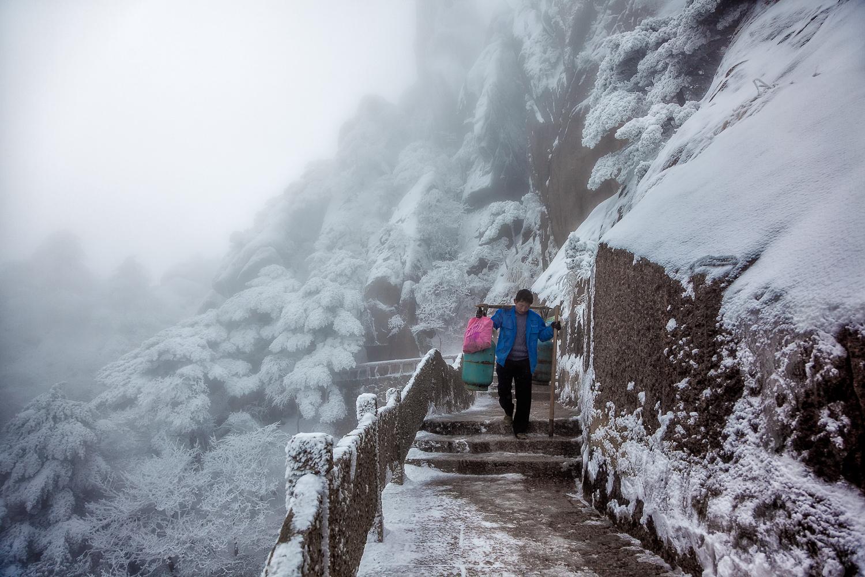 A hard road - China