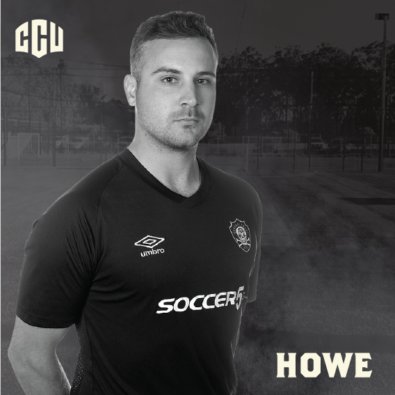 Team Howe - Geordie Howe was the first player ever signed to Central Coast United. Geordie spent his junior football at Gosford City Football Club where he developed as one of the strongest central defenders on the coast. He was the club's first vice-captain and played every second of First Grade in our inaugural year where he won the grandfinal's player of the match.Geordie's time in the local premier league made him well renowned across the coast and he was a true coastie signed to CCU.Geordie's leadership abilities, determination and positive communication on the field are qualities that every CCU kid should aspire to.