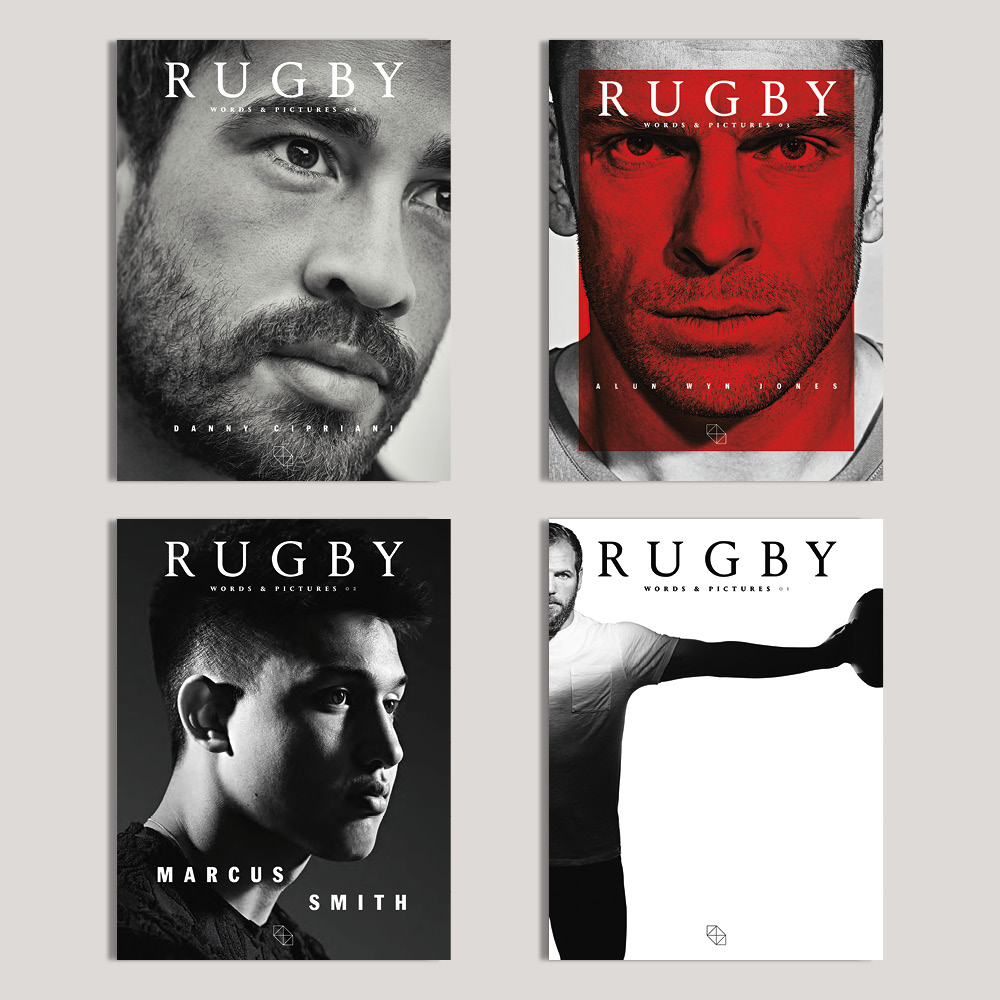The perfect present for every rugby fan: the first four issues of RUGBY journal. -