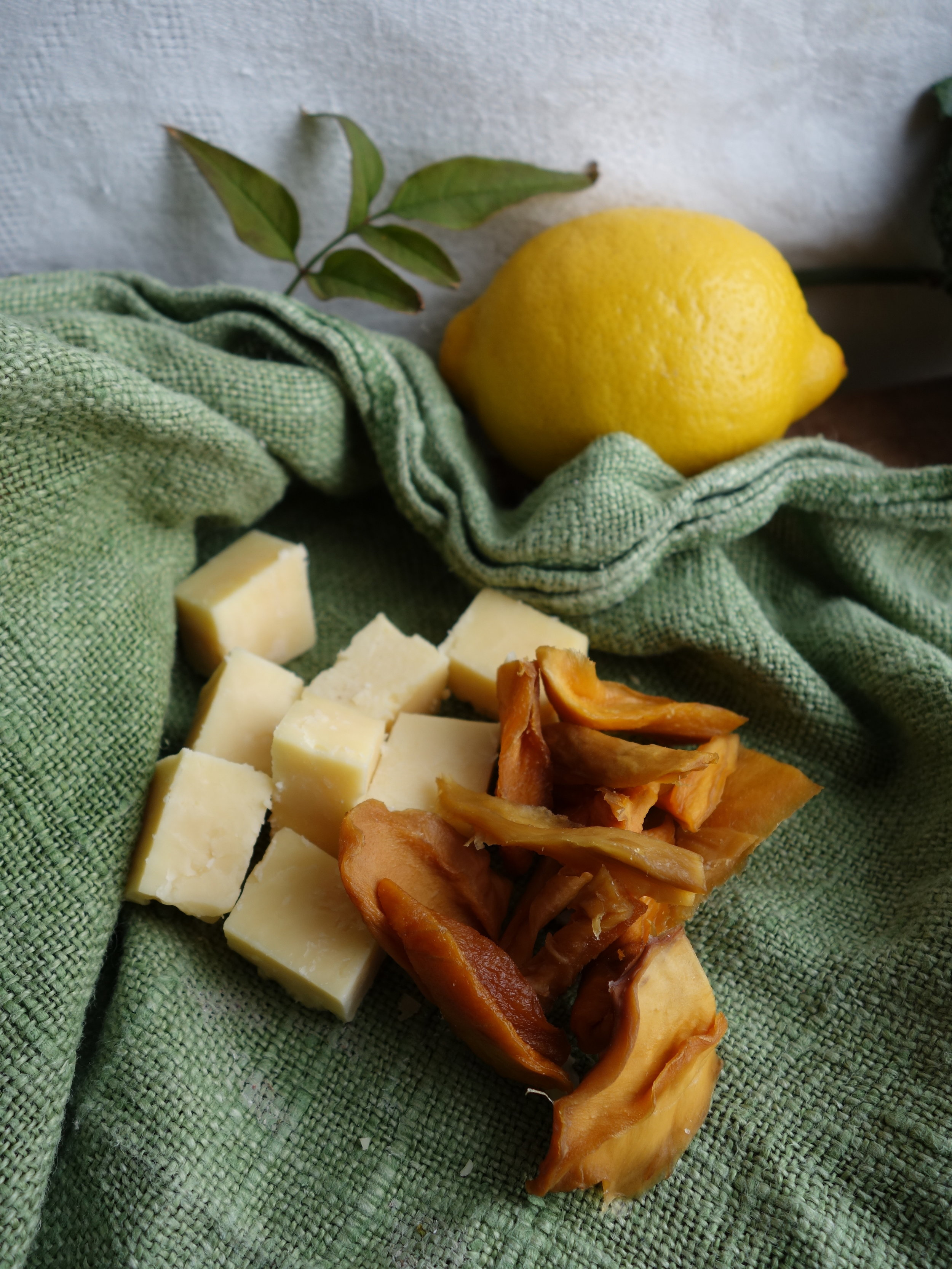 dried mango and cheese